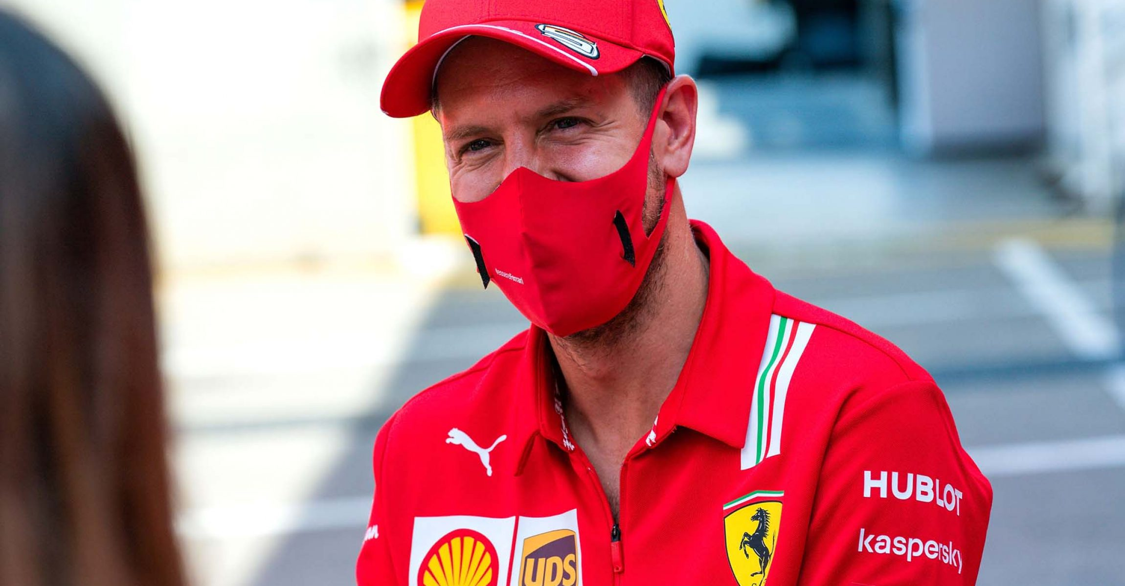 GP SPAGNA F1/2020 -  GIOVEDÌ 13/08/2020  09/08/2020  credit: @Scuderia Ferrari Press Office Sebastian Vettel,