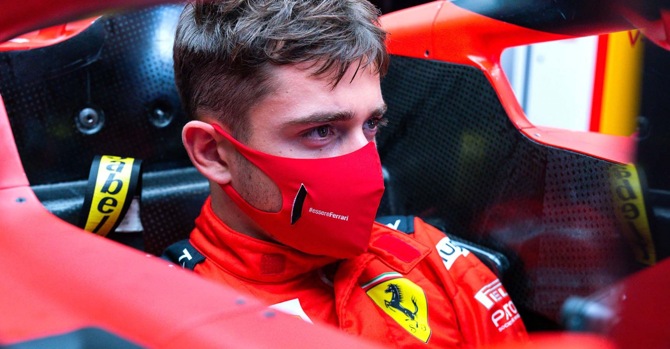 GP SPAGNA F1/2020 -  GIOVEDÌ 13/08/2020  09/08/2020  credit: @Scuderia Ferrari Press Office Charles Leclerc