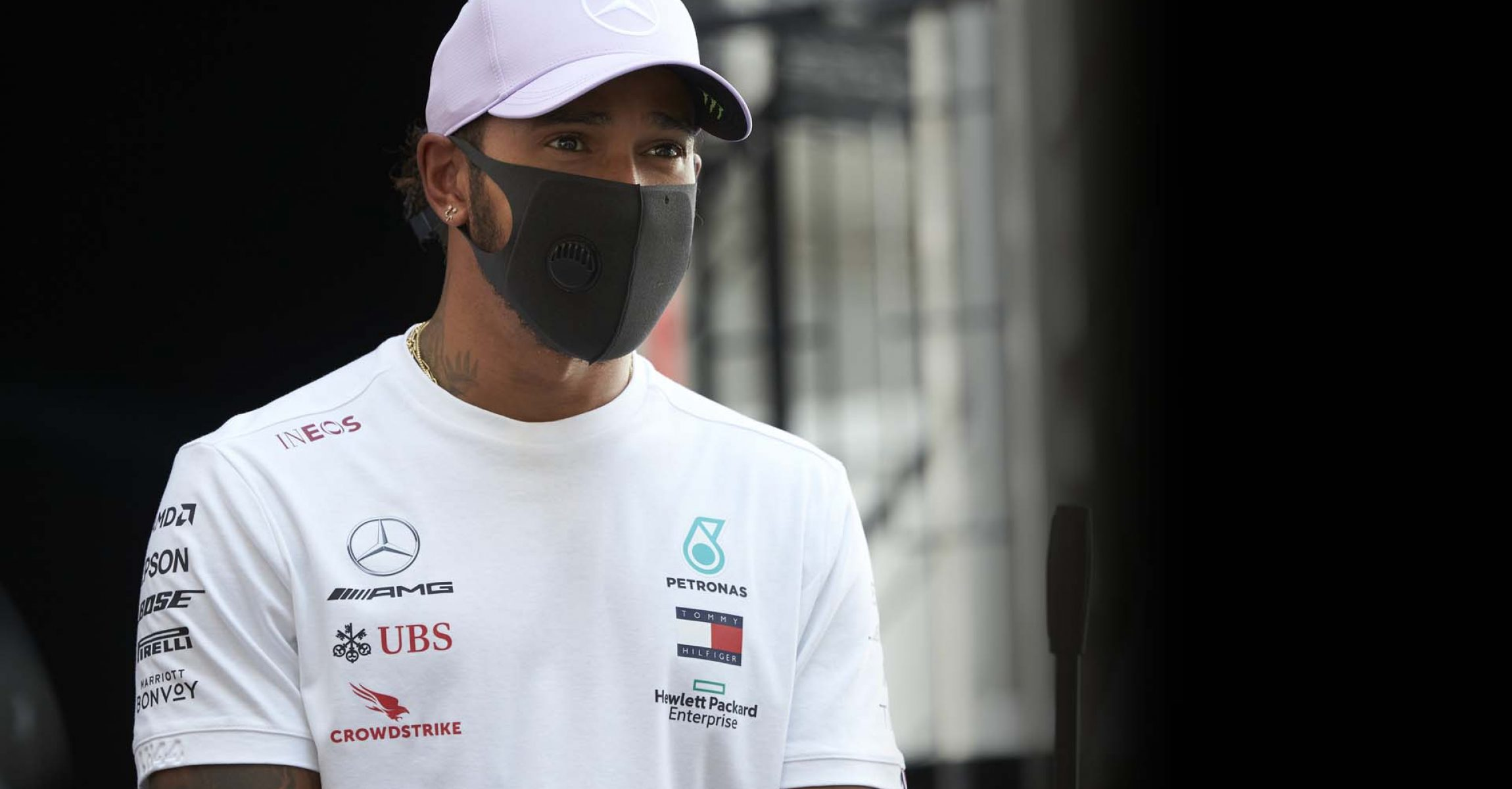 2020 Spanish Grand Prix, Thursday - Steve Etherington Lewis Hamilton Mercedes