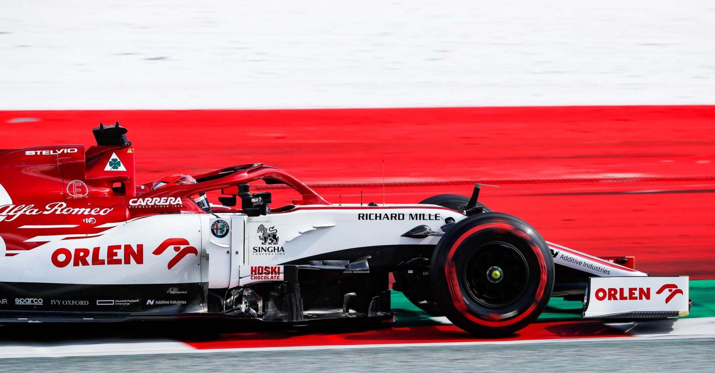07 RAIKKONEN Kimi Räikkönen (fin), Alfa Romeo Racing C39, action during the Formula 1 Pirelli Grosser Preis der Steiermark 2020, Styrian Grand Prix from July 10 to 12, 2020 on the Red Bull Ring, in Spielberg, Austria - Photo Antonin Vincent / DPPI