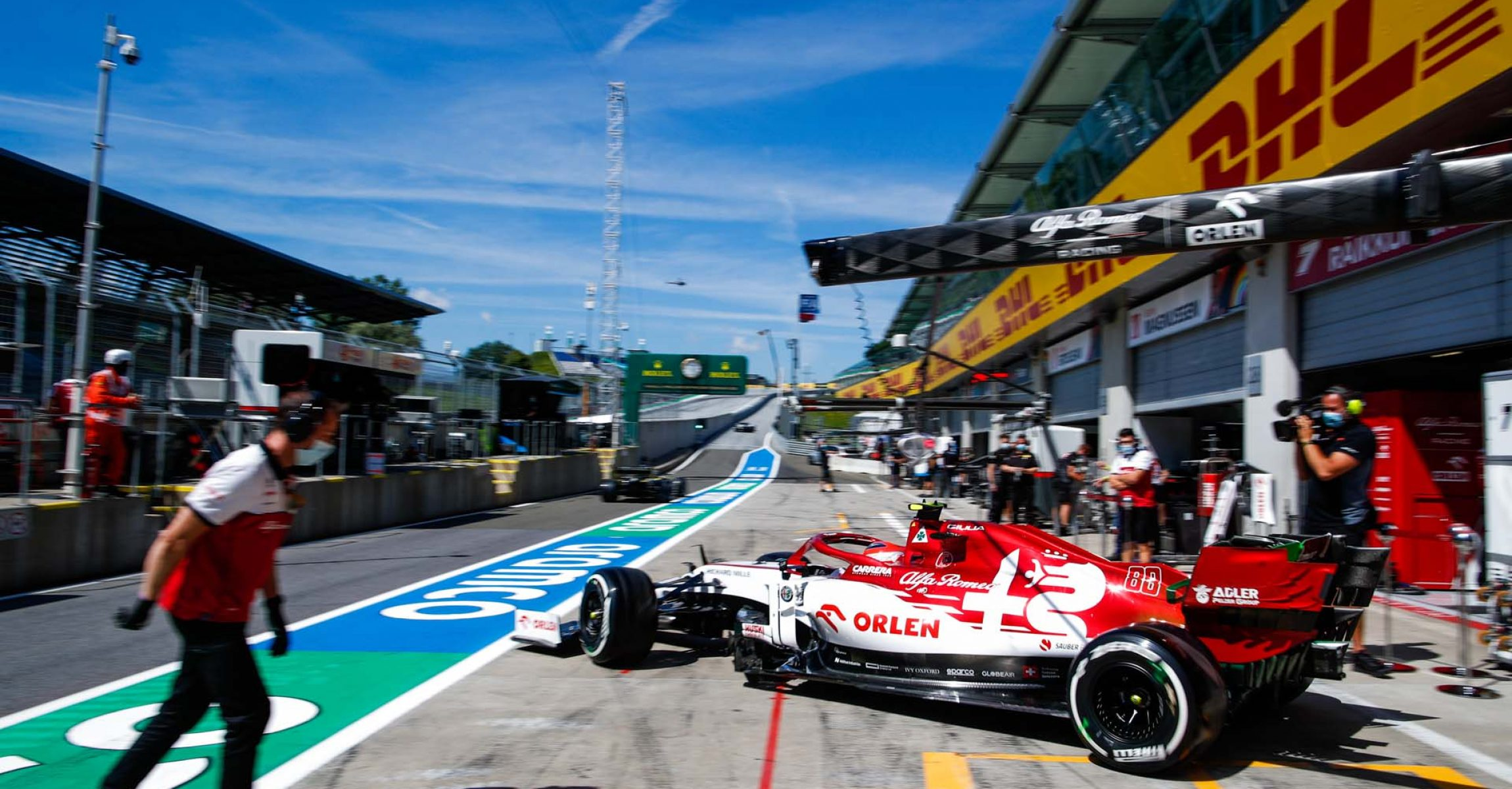 88 KUBICA Robert (pol), Alfa Romeo Racing C39, action during the Formula 1 Pirelli Grosser Preis der Steiermark 2020, Styrian Grand Prix from July 10 to 12, 2020 on the Red Bull Ring, in Spielberg, Austria - Photo Florent Gooden / DPPI