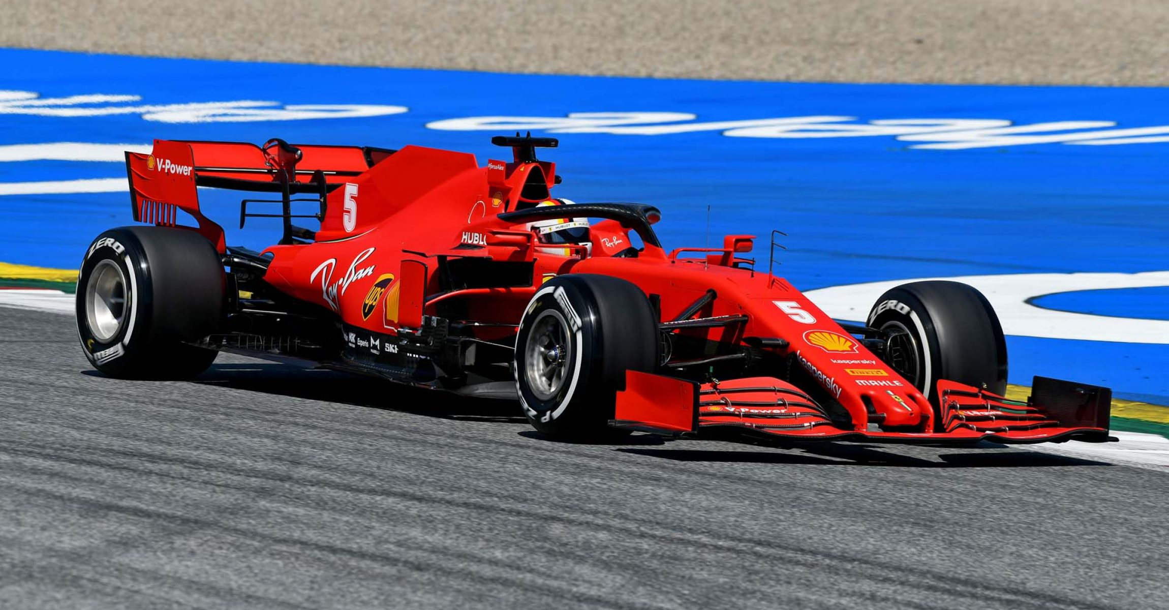 GP STYRIA F1/2020 - VENERDÌ 10/07/2020 credit: @Scuderia Ferrari Press Office Sebastian Vettel Ferrari