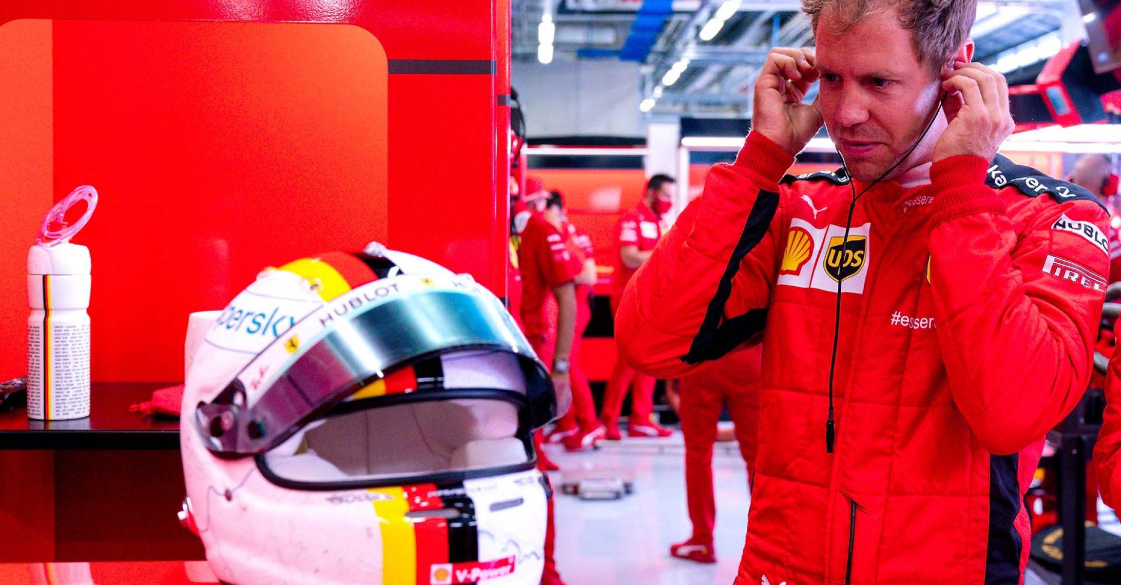 GP STYRIA F1/2020 - VENERDÌ 10/07/2020 credit: @Scuderia Ferrari Press Office Sebastian Vettel