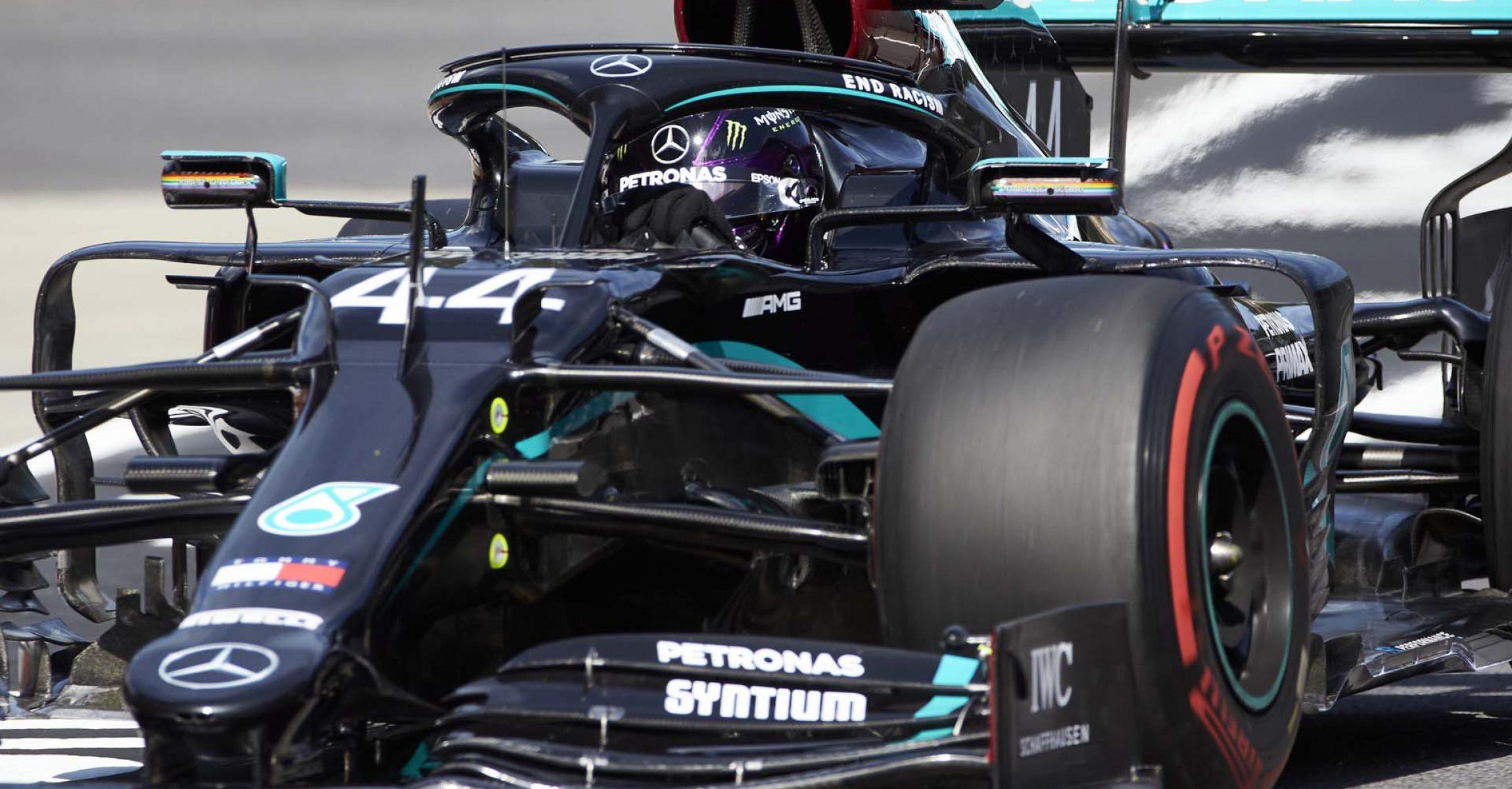 2020 Styrian Grand Prix, Friday - Steve Etherington Lewis Hamilton Mercedes