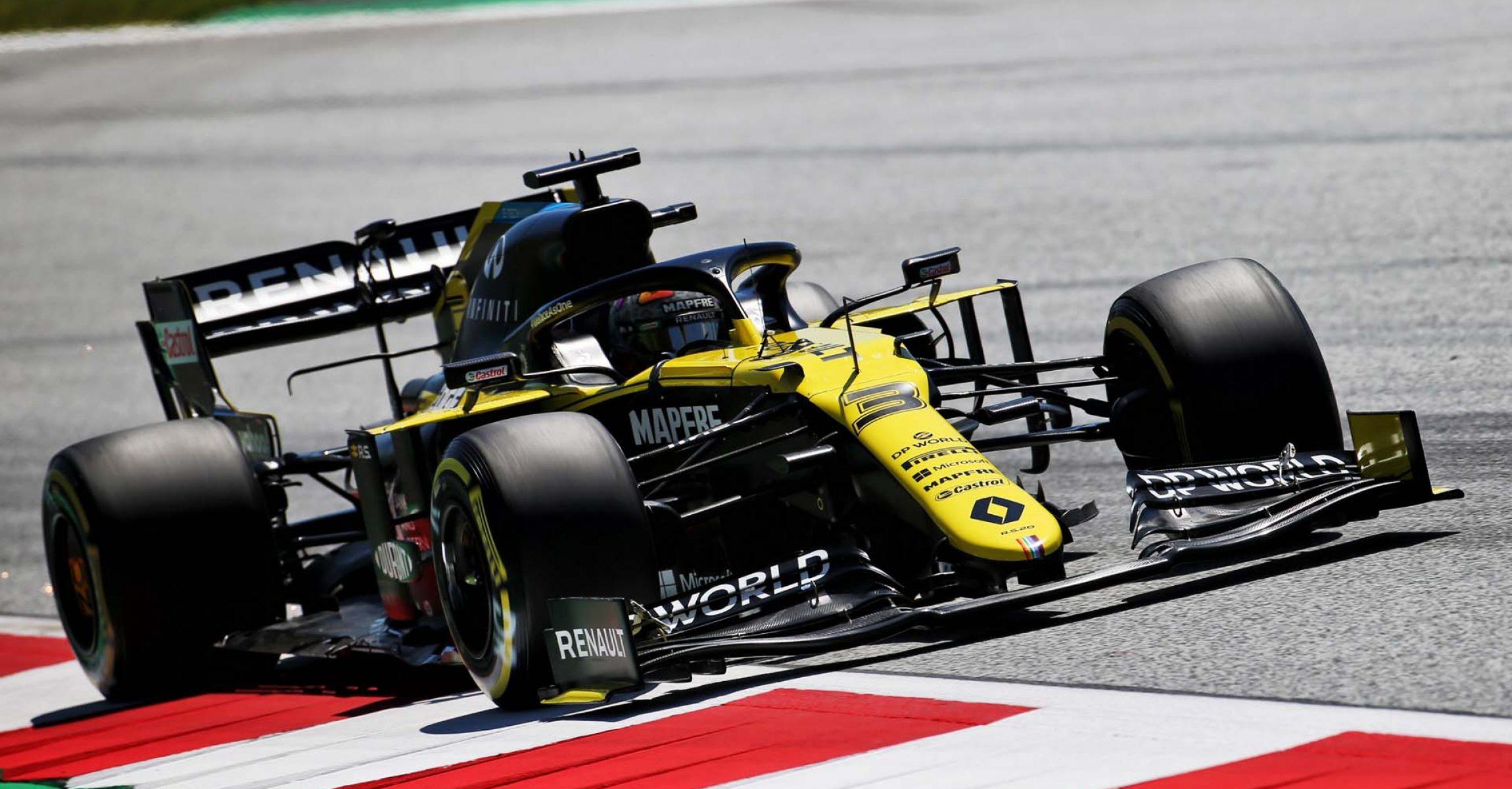 Daniel Ricciardo (AUS) Renault F1 Team RS20. Steiermark Grand Prix, Friday 10th July 2020. Spielberg, Austria.