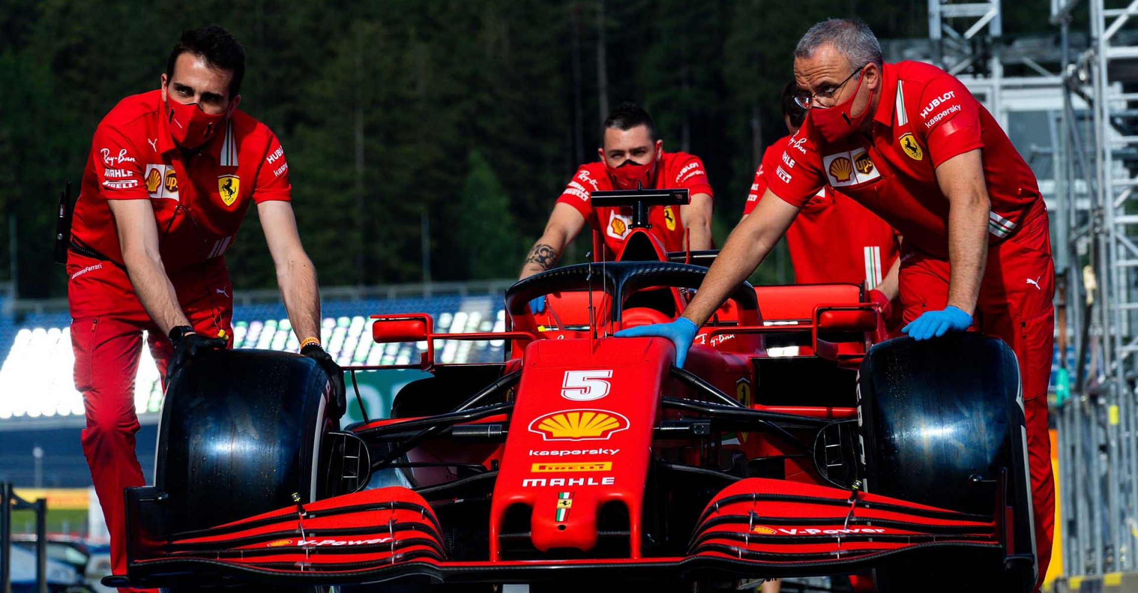 GP STYRIA F1/2020 - GIOVEDÌ 09/07/2020 credit: @Scuderia Ferrari Press Office