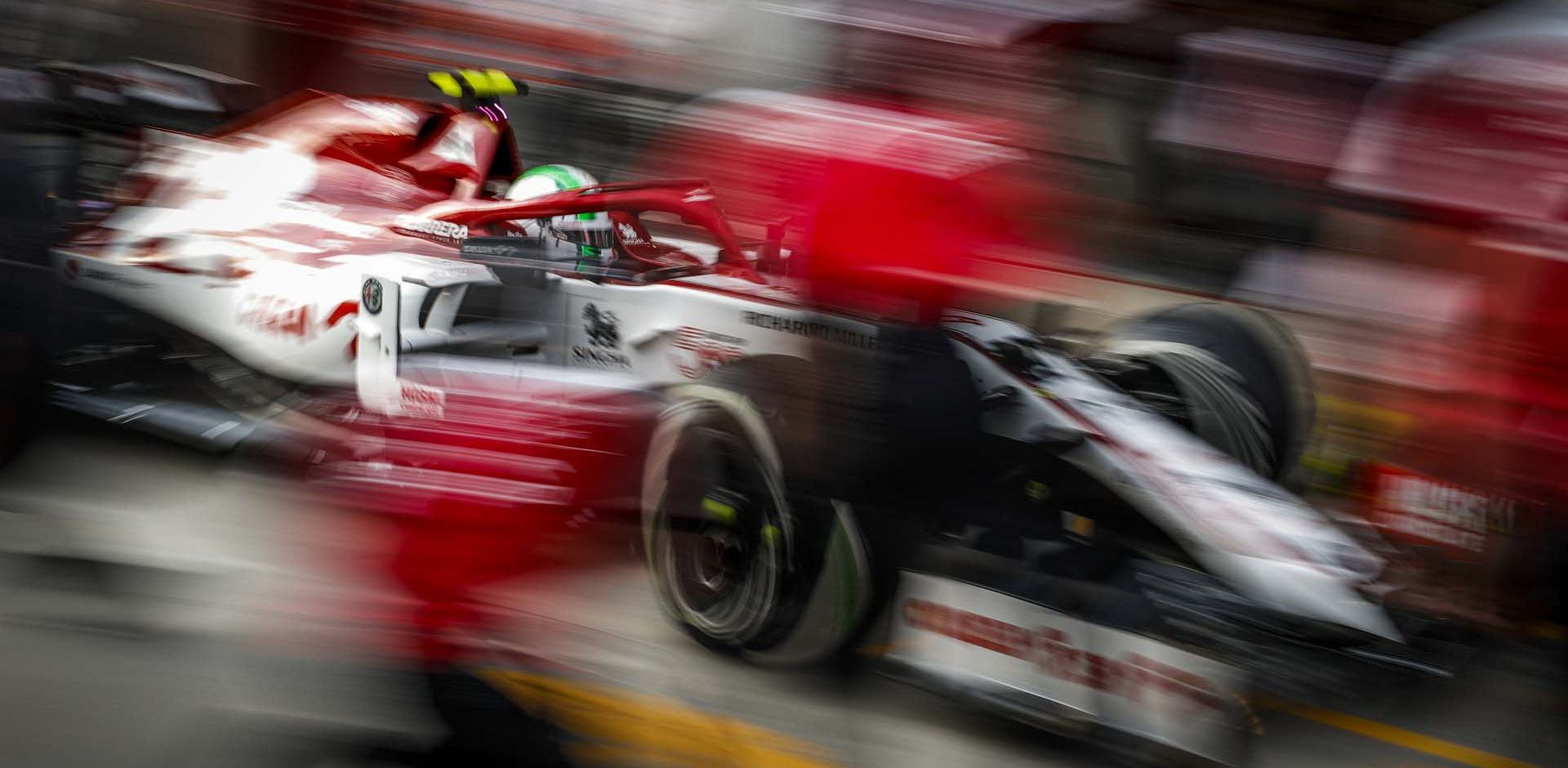 GIOVINAZZI Antonio (ita), Alfa Romeo Racing ORLEN C39, action during the Formula 1 DHL Turkish Grand Prix 2020, from November 13 to 15, 2020 on the  Intercity Istanbul Park, in Tuzla, near Istanbul, Turkey - Photo Florent Gooden / DPPI