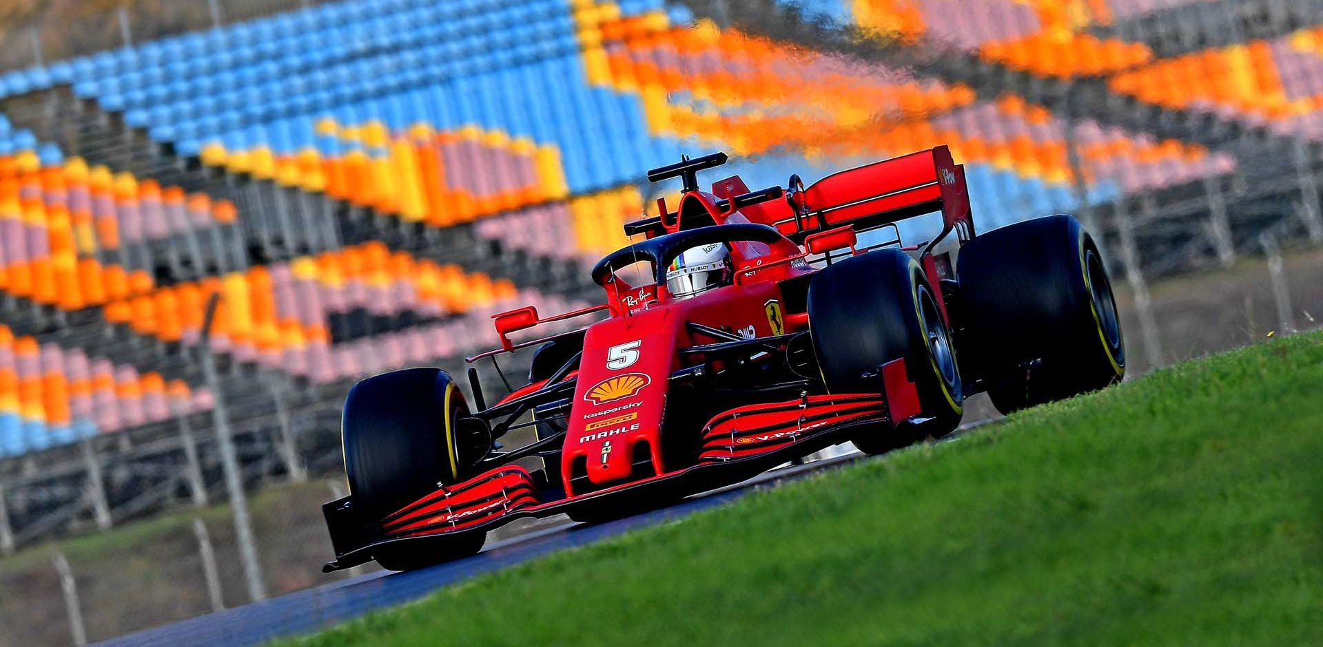 GP TURCHIA  F1/2020 -  VENERDÌ  13/11/2020    credit: @Scuderia Ferrari Press Office Sebastian Vettel Ferrari