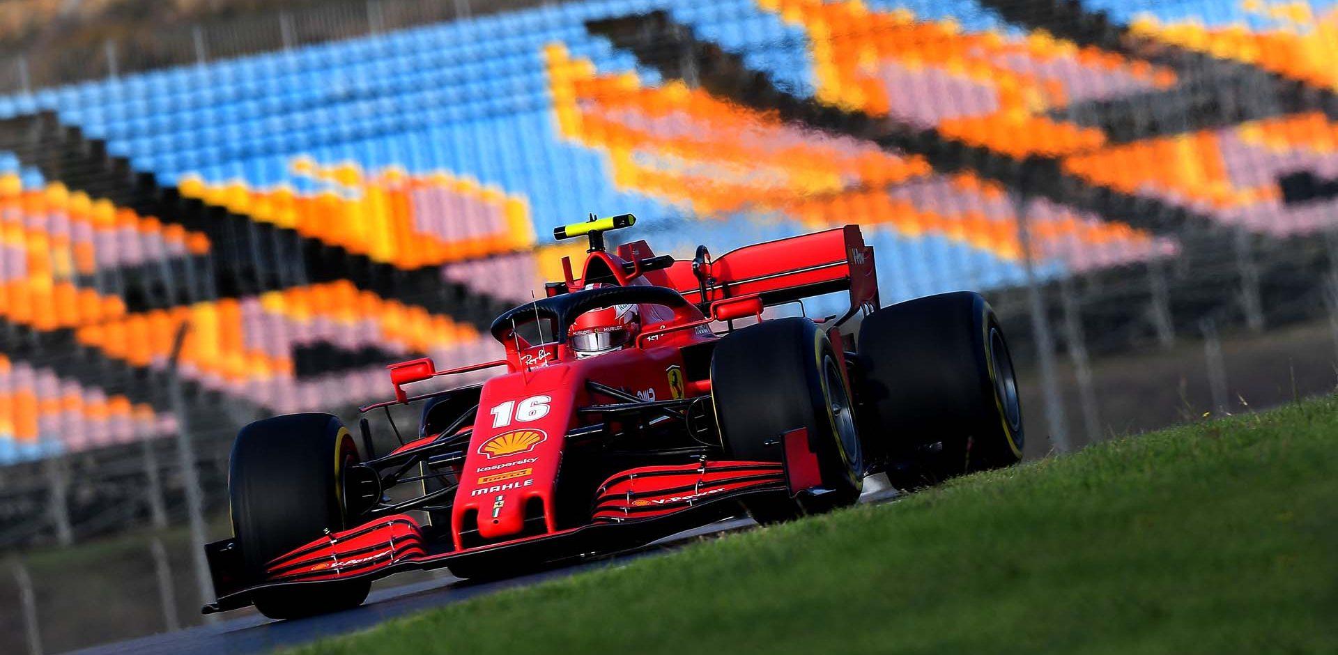 GP TURCHIA  F1/2020 -  VENERDÌ  13/11/2020    credit: @Scuderia Ferrari Press Office Charles Leclerc Ferrari