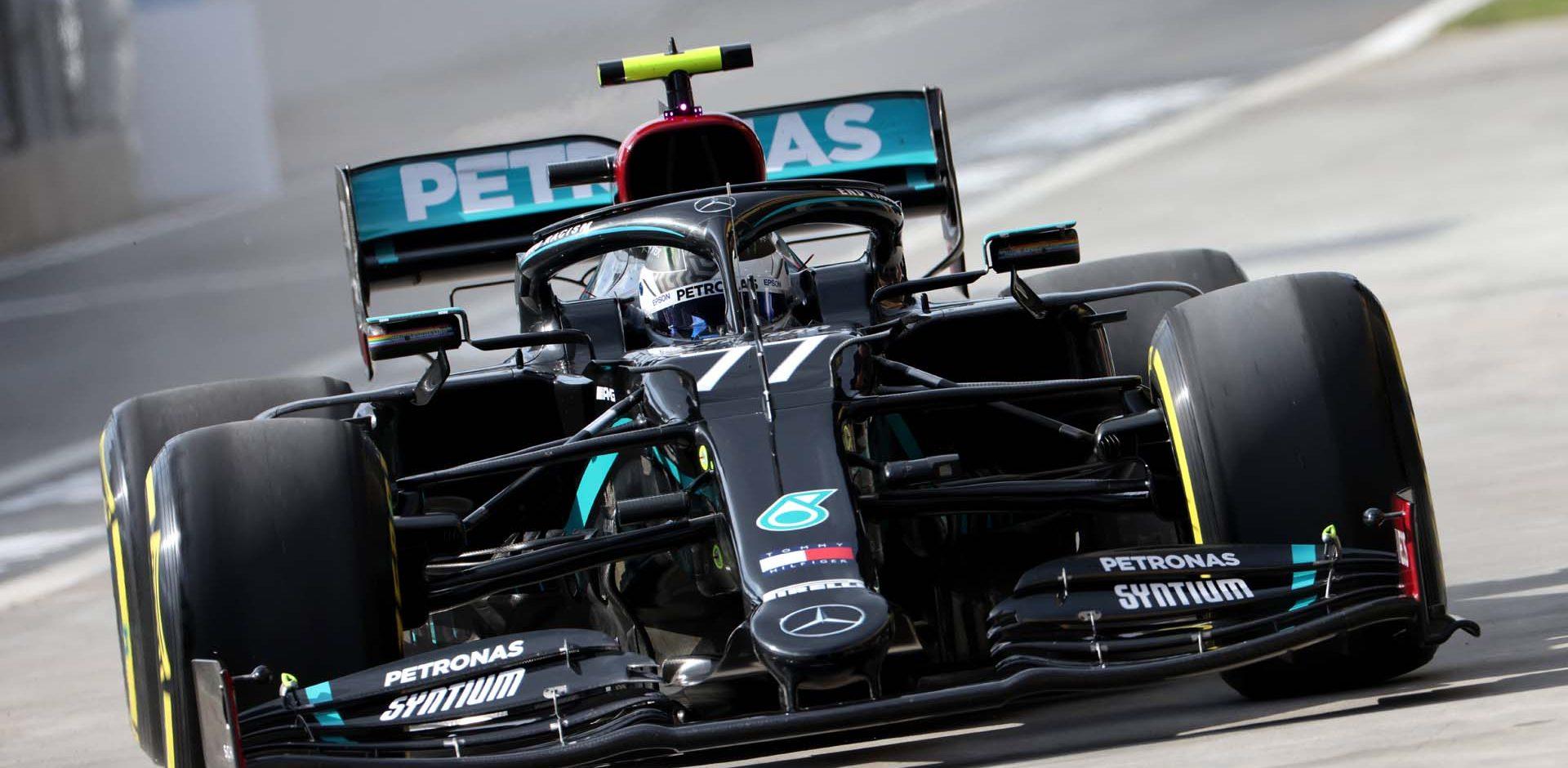2020 Turkish Grand Prix, Friday - Steve Etherington Valtteri Bottas Mercedes