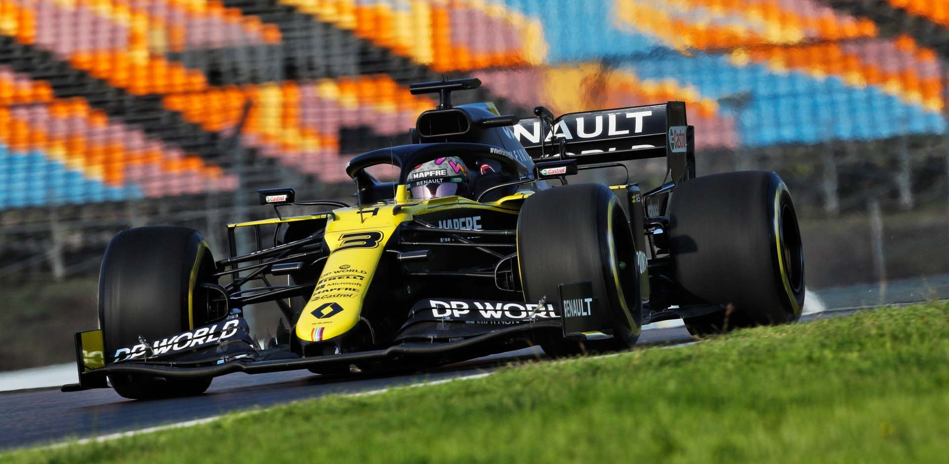 Daniel Ricciardo (AUS) Renault F1 Team RS20. Turkish Grand Prix, Friday 13th November 2020. Istanbul, Turkey.