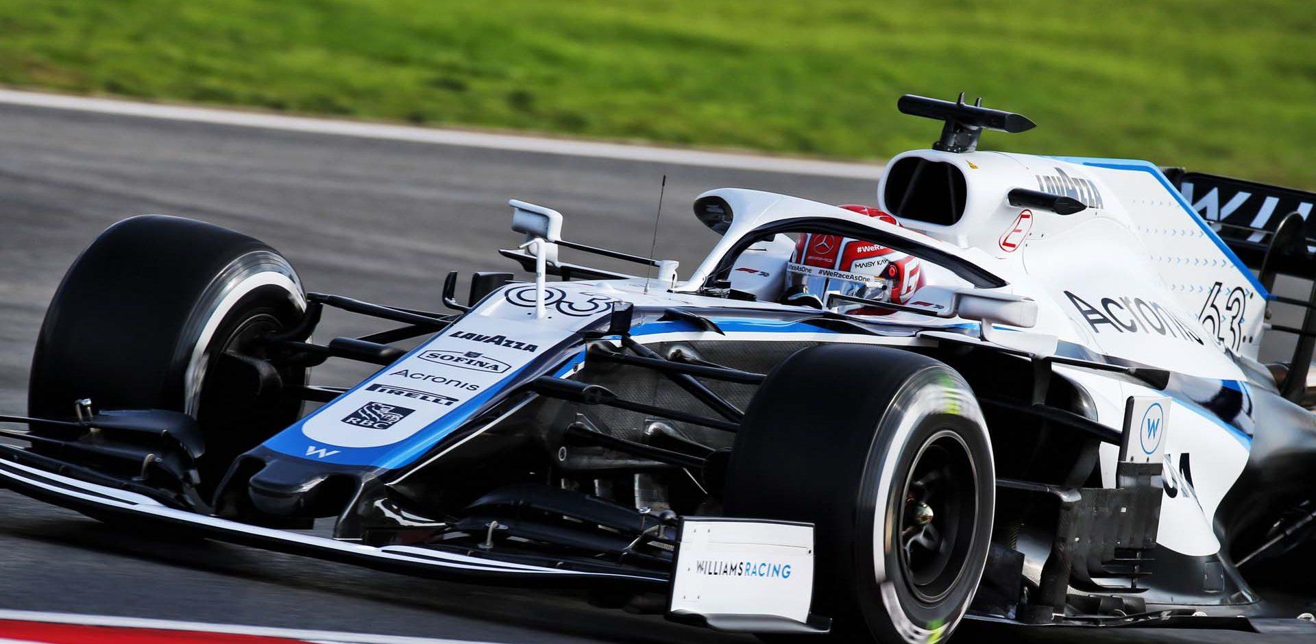 George Russell (GBR) Williams Racing FW43. Turkish Grand Prix, Friday 13th November 2020. Istanbul, Turkey.
