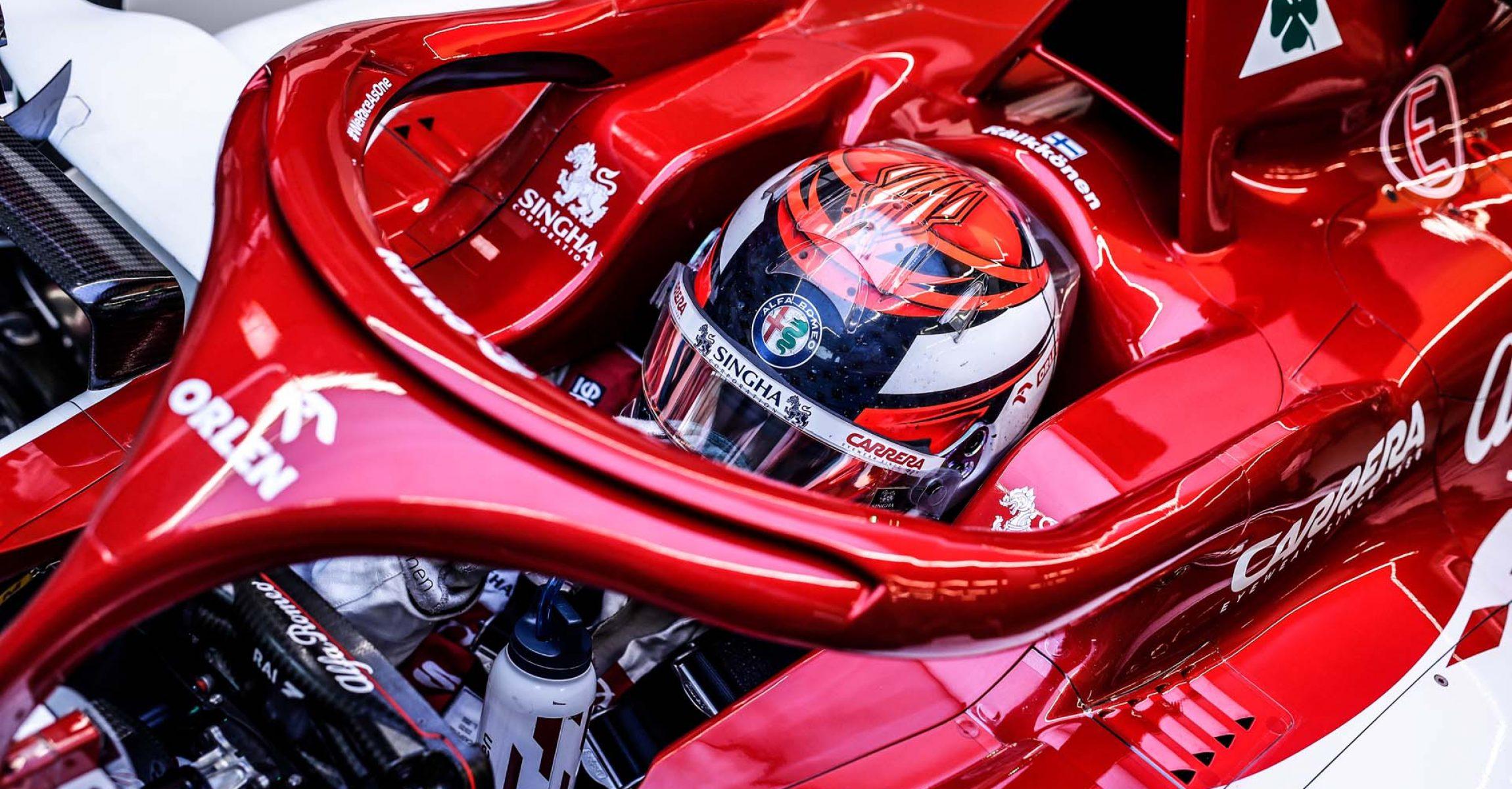 RAIKKONEN Kimi Räikkönen (fin), Alfa Romeo Racing ORLEN C39, portrait during the Formula 1 DHL Turkish Grand Prix 2020, from November 13 to 15, 2020 on the  Intercity Istanbul Park, in Tuzla, near Istanbul, Turkey - Photo Florent Gooden / DPPI