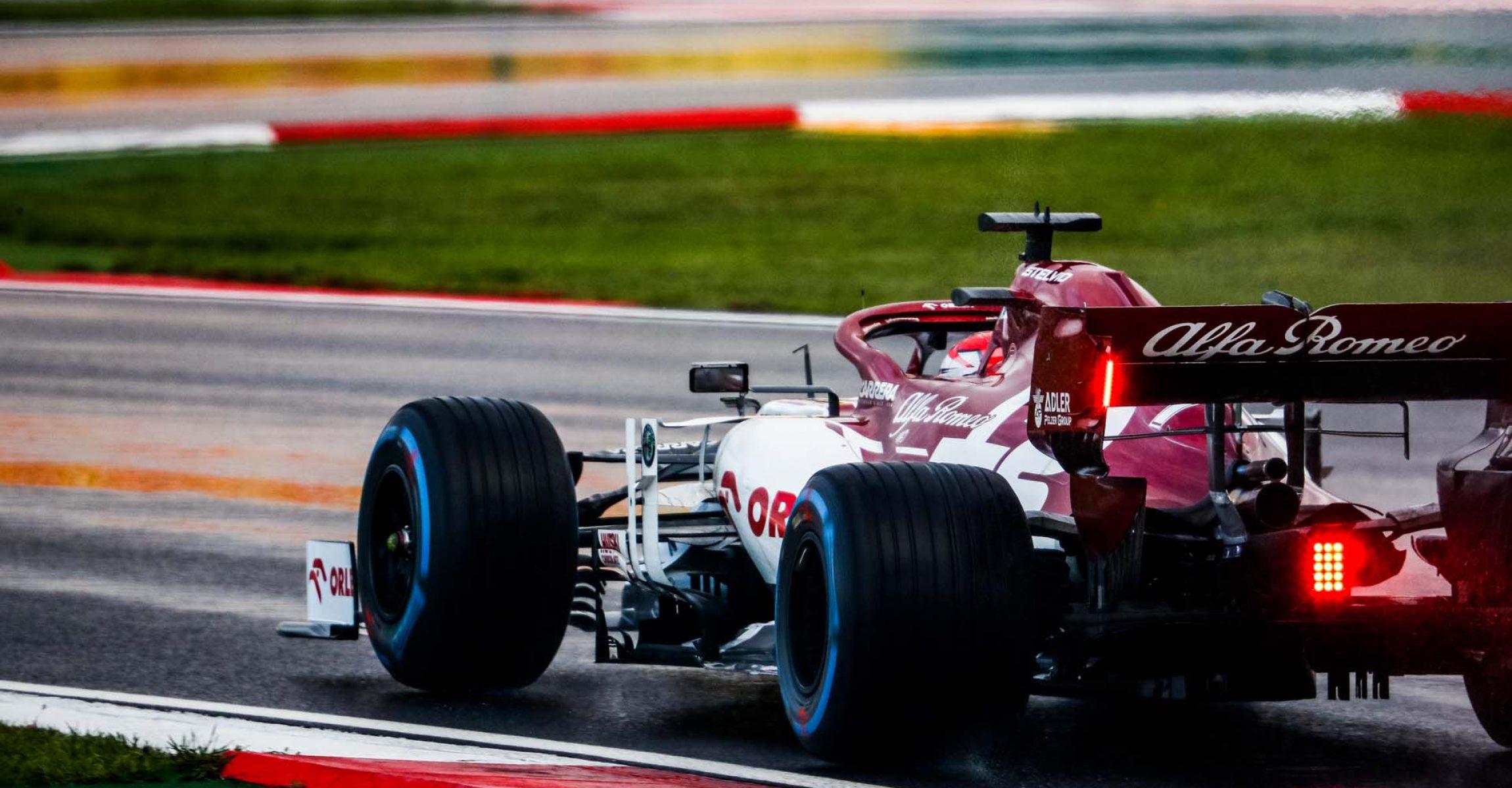 07 RAIKKONEN Kimi (fin), Alfa Romeo Racing ORLEN C39, action during the Formula 1 DHL Turkish Grand Prix 2020, from November 13 to 15, 2020 on the  Intercity Istanbul Park, in Tuzla, near Istanbul, Turkey - Photo Antonin Vincent / DPPI