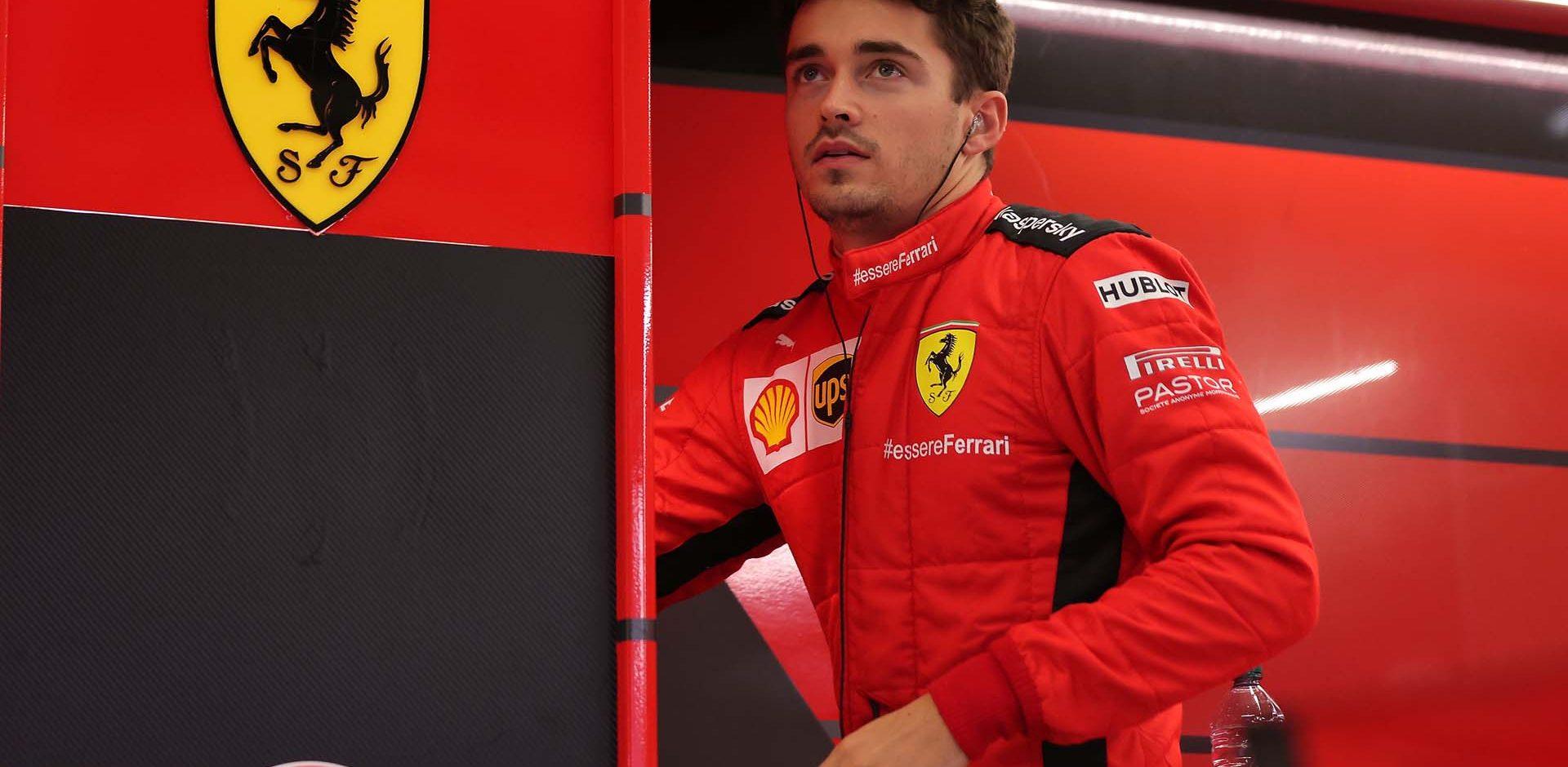 GP TURCHIA  F1/2020 -  SABATO 14/11/2020    credit: @Scuderia Ferrari Press Office Charles Leclerc
