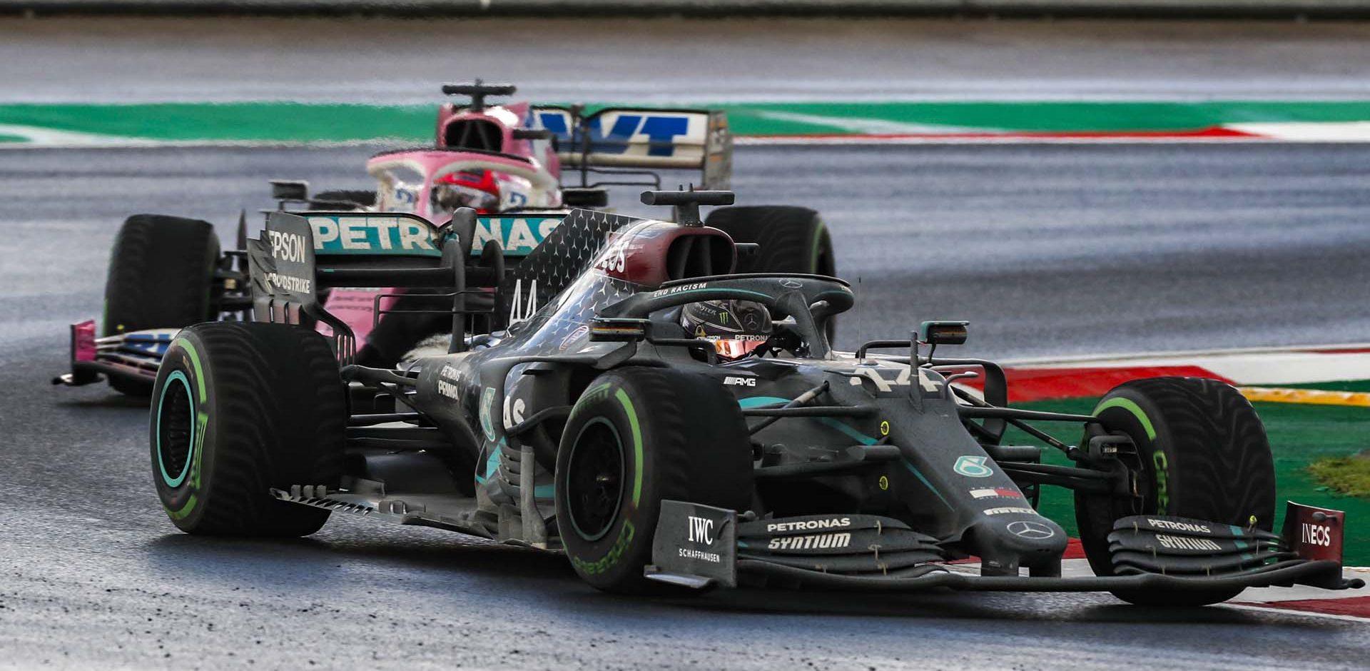 2020 Turkish Grand Prix, Sunday - LAT Images Lewis Hamilton Mercedes