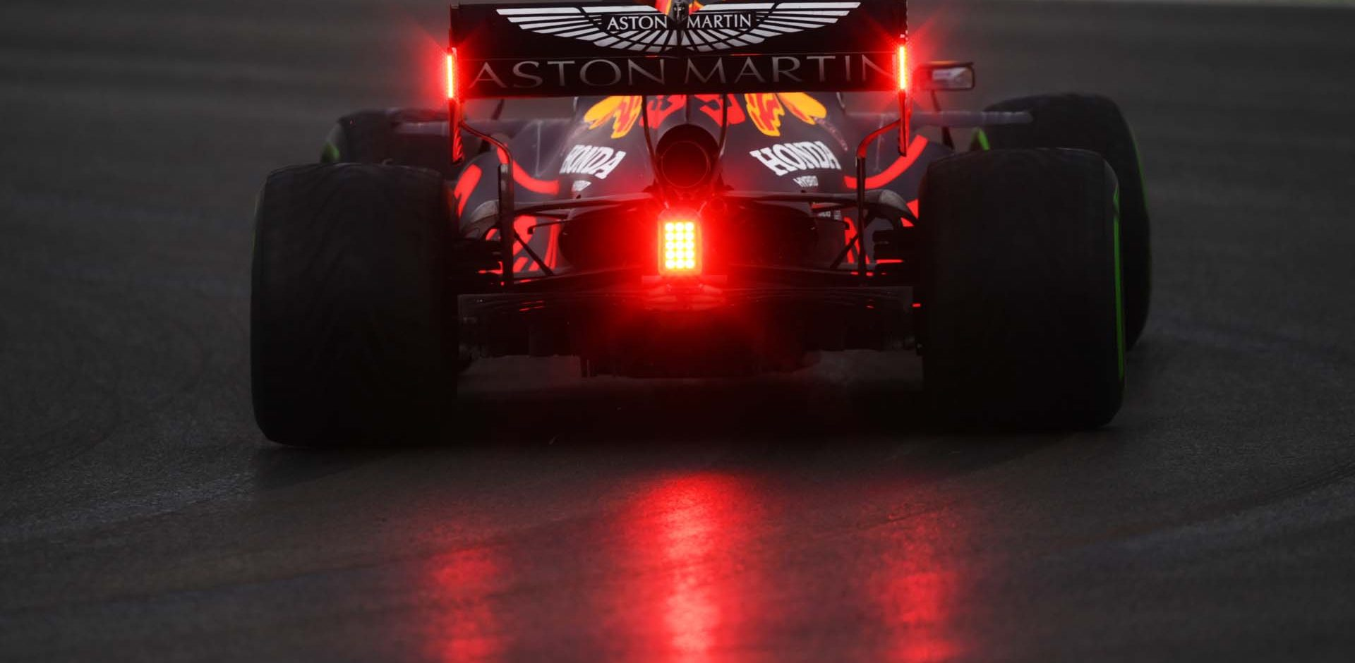 ISTANBUL, TURKEY - NOVEMBER 14: Max Verstappen of the Netherlands driving the (33) Aston Martin Red Bull Racing RB16 on track during final practice ahead of the F1 Grand Prix of Turkey at Intercity Istanbul Park on November 14, 2020 in Istanbul, Turkey. (Photo by Clive Mason/Getty Images)