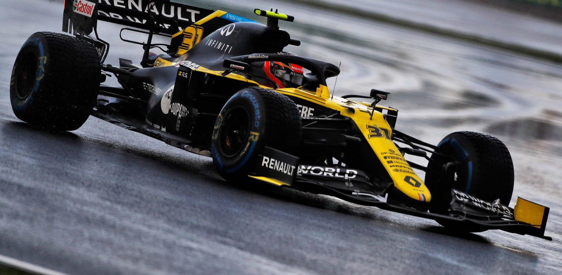 Esteban Ocon (FRA) Renault F1 Team RS20. Turkish Grand Prix, Saturday 14th November 2020. Istanbul, Turkey.