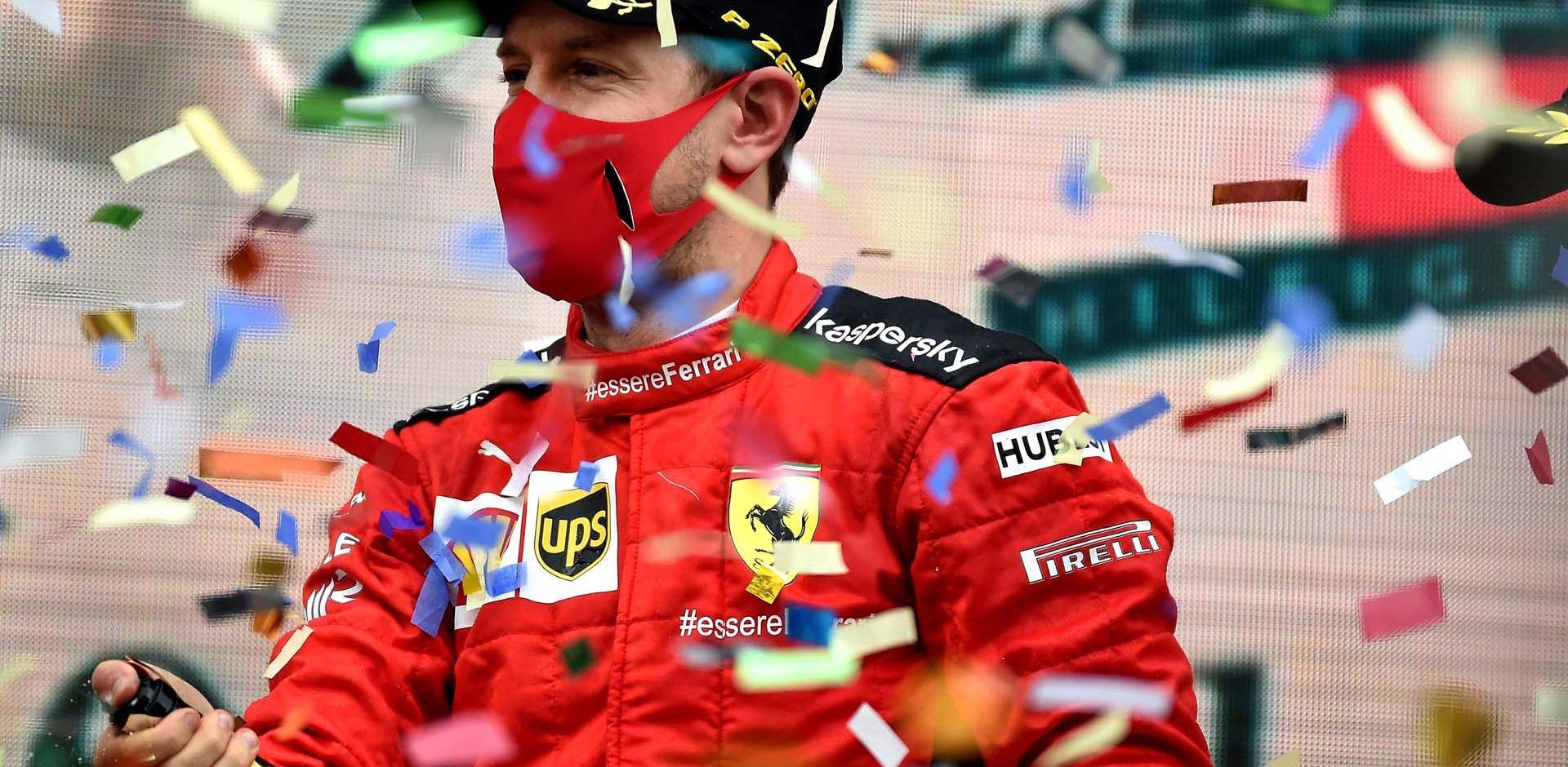 GP TURCHIA  F1/2020 -  DOMENICA 15/11/2020   credit: @Scuderia Ferrari Press Office Sebastian Vettel