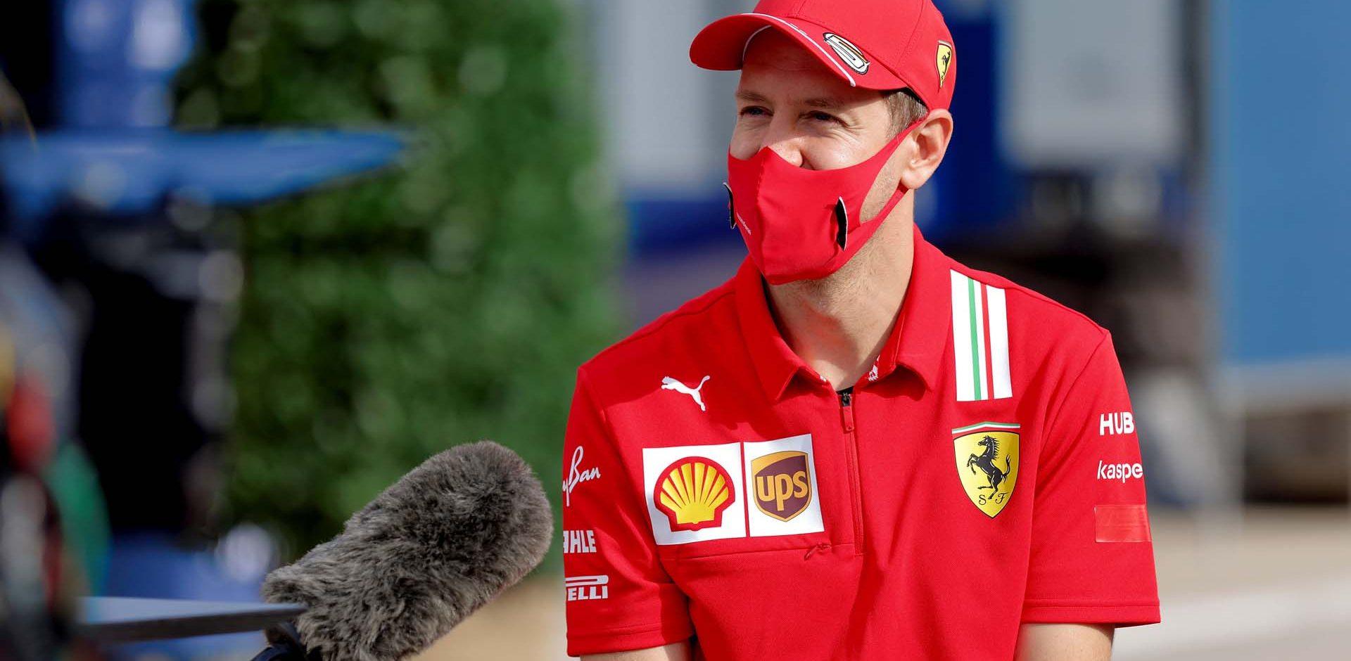 GP TURCHIA  F1/2020 -  GIOVEDÌ 12/11/2020    credit: @Scuderia Ferrari Press Office Sebastian Vettel
