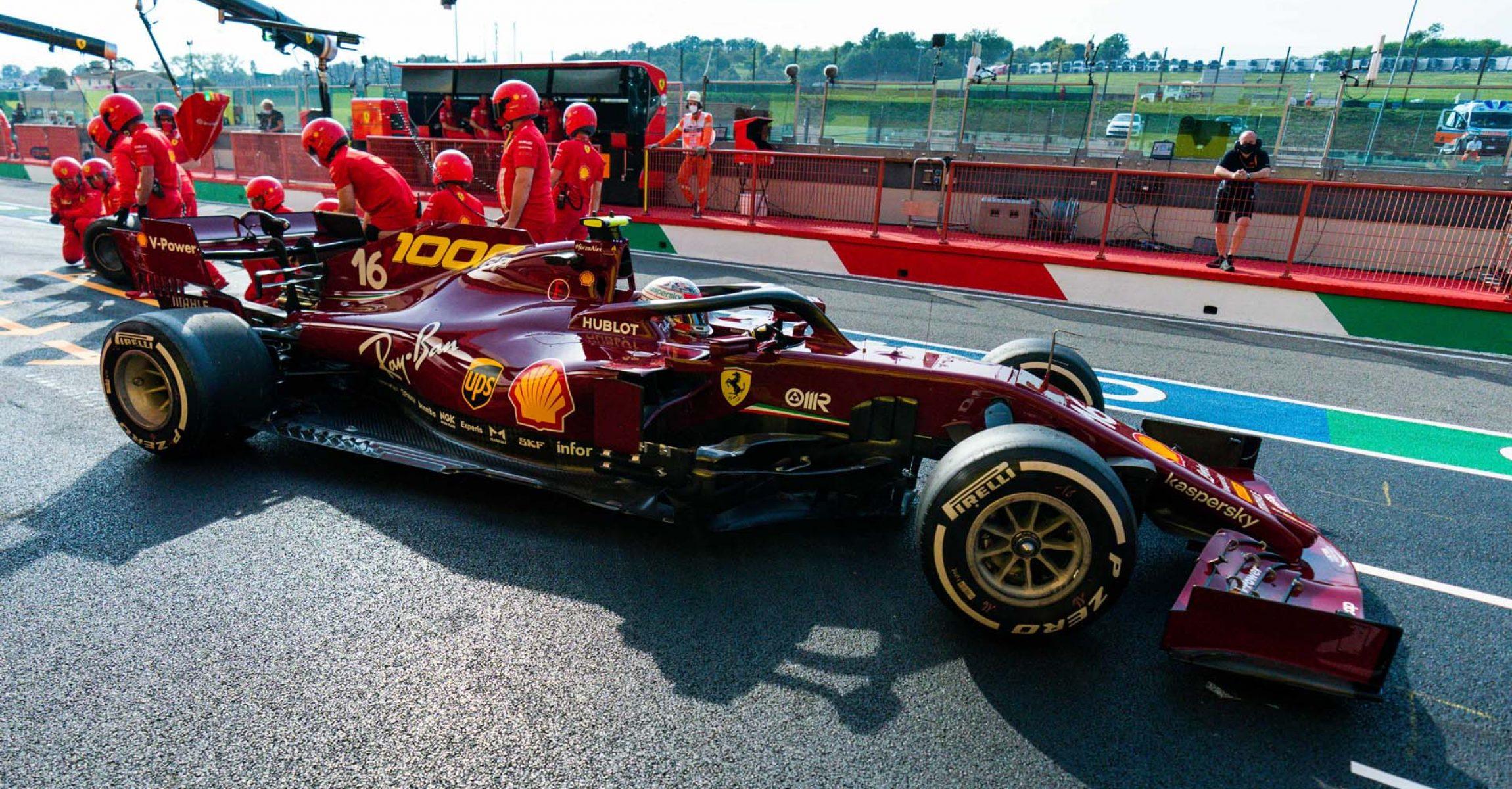 GP TOSCANA FERRARI 1000 F1/2020 -  VENERDÌ 11/09/2020     credit: @Scuderia Ferrari Press Office Charles Leclerc