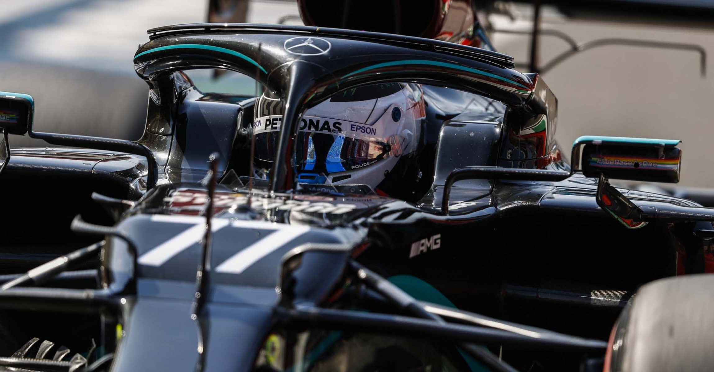 2020 Tuscan Grand Prix, Friday - LAT Images Valtteri Bottas Mercedes