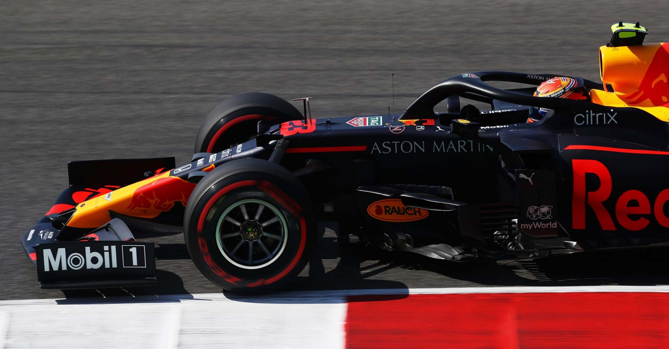 SCARPERIA, ITALY - SEPTEMBER 11: Alexander Albon of Thailand driving the (23) Aston Martin Red Bull Racing RB16 on track during practice ahead of the F1 Grand Prix of Tuscany at Mugello Circuit on September 11, 2020 in Scarperia, Italy. (Photo by Mark Thompson/Getty Images) // Getty Images / Red Bull Content Pool  // SI202009110234 // Usage for editorial use only //