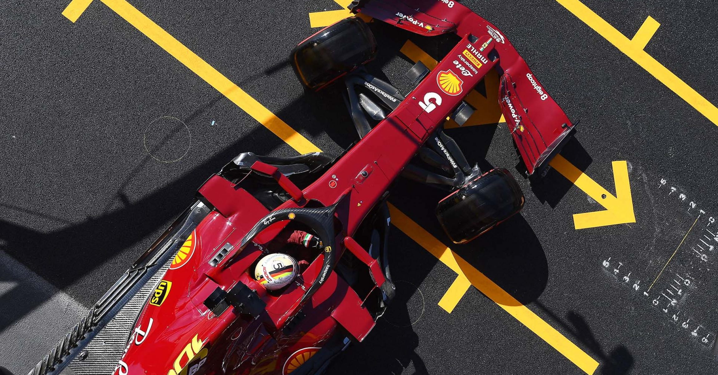 GP TOSCANA FERRARI 1000 F1/2020 -  SABATO 12/09/2020   credit: @Scuderia Ferrari Press Office Sebastian Vettel