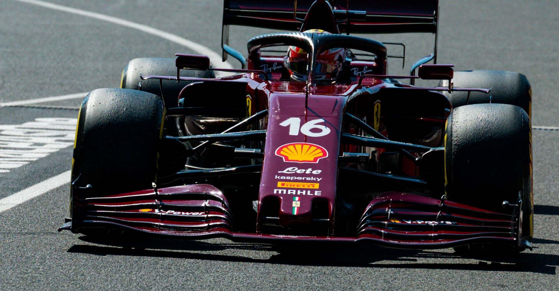 GP TOSCANA FERRARI 1000 F1/2020 -  SABATO 12/09/2020   credit: @Scuderia Ferrari Press Office Charles Leclerc