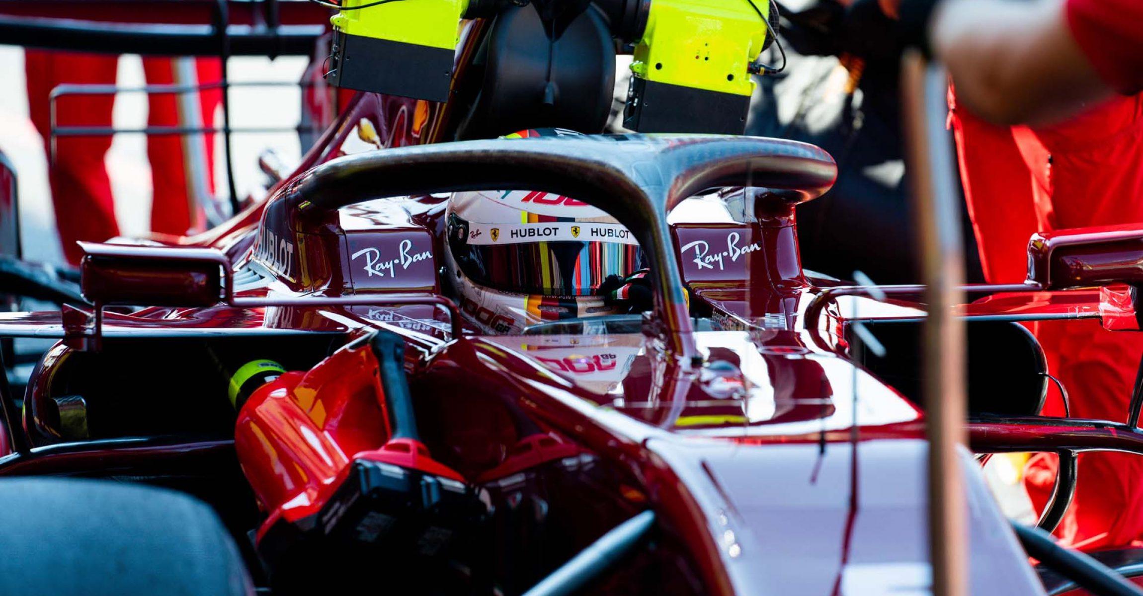 GP TOSCANA FERRARI 1000 F1/2020 -  SABATO 12/09/2020   credit: @Scuderia Ferrari Press Office Sebastian Vettel