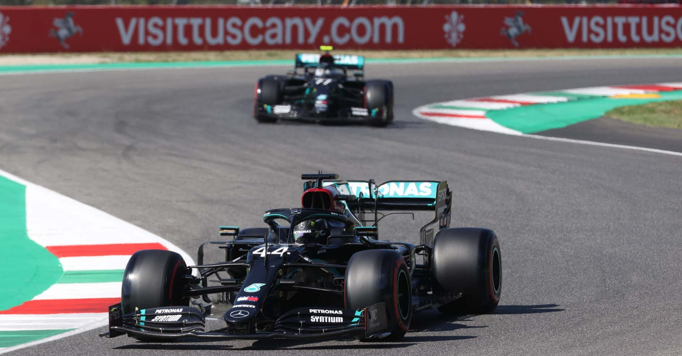 2020 Tuscan Grand Prix, Saturday - Wolfgang Wilhelm Lewis Hamilton Mercedes