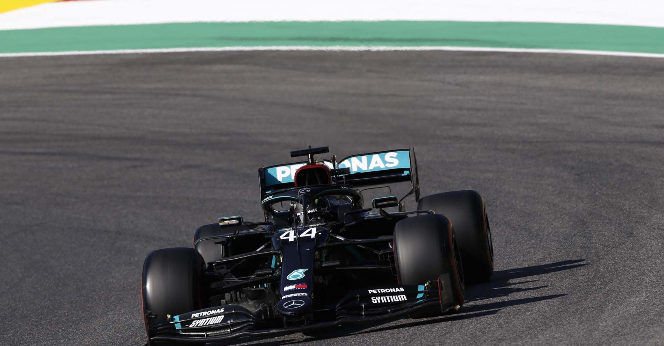 2020 Tuscan Grand Prix, Saturday - Wolfgang Wilhelm Lewis Hamilton Mercedes
