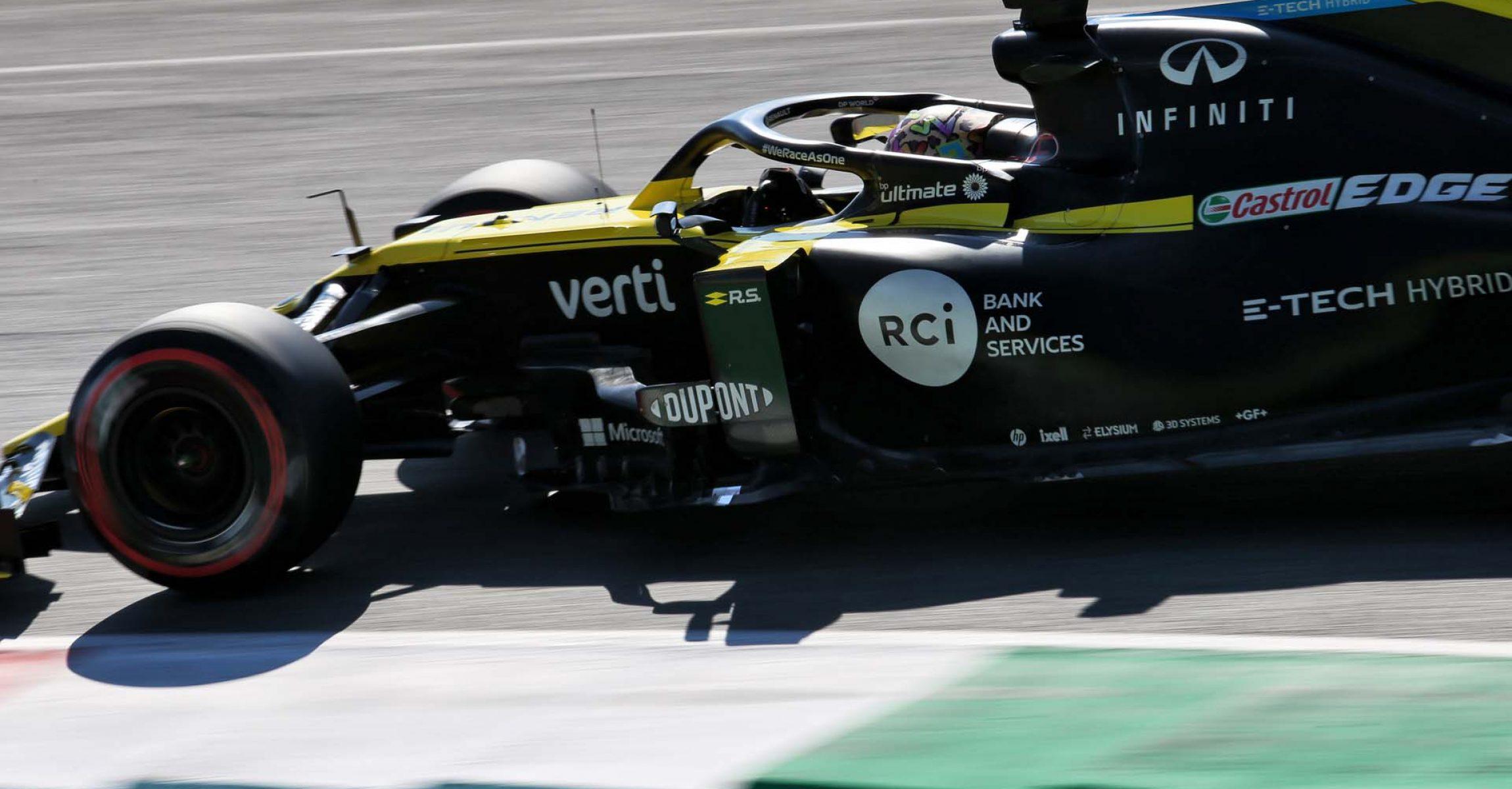 Daniel Ricciardo (AUS) Renault F1 Team RS20. Tuscan Grand Prix, Saturday 12th September 2020. Mugello Italy.
