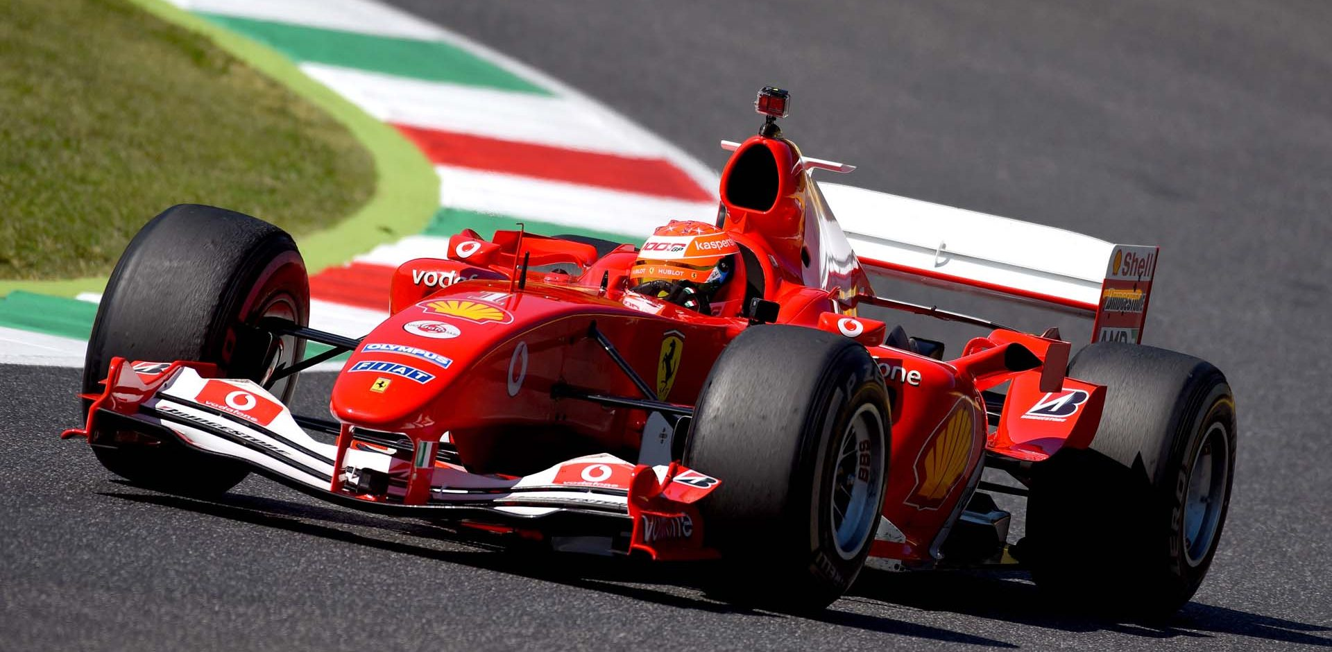 Mick Schumacher, Ferrar F2004, Tuscan Grand Prix 2020, Mugello