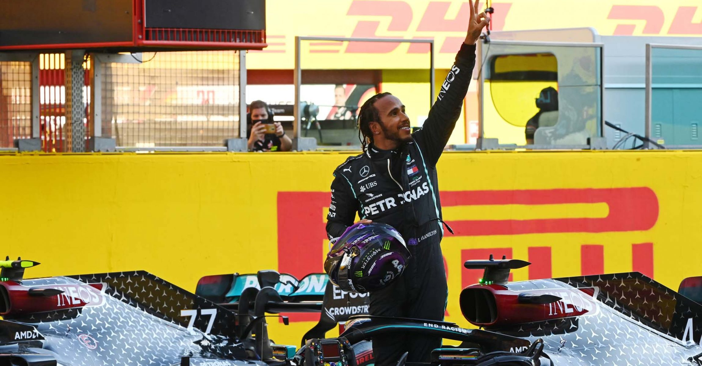2020 Tuscan Grand Prix, Sunday - LAT Images Lewis Hamilton Mercedes