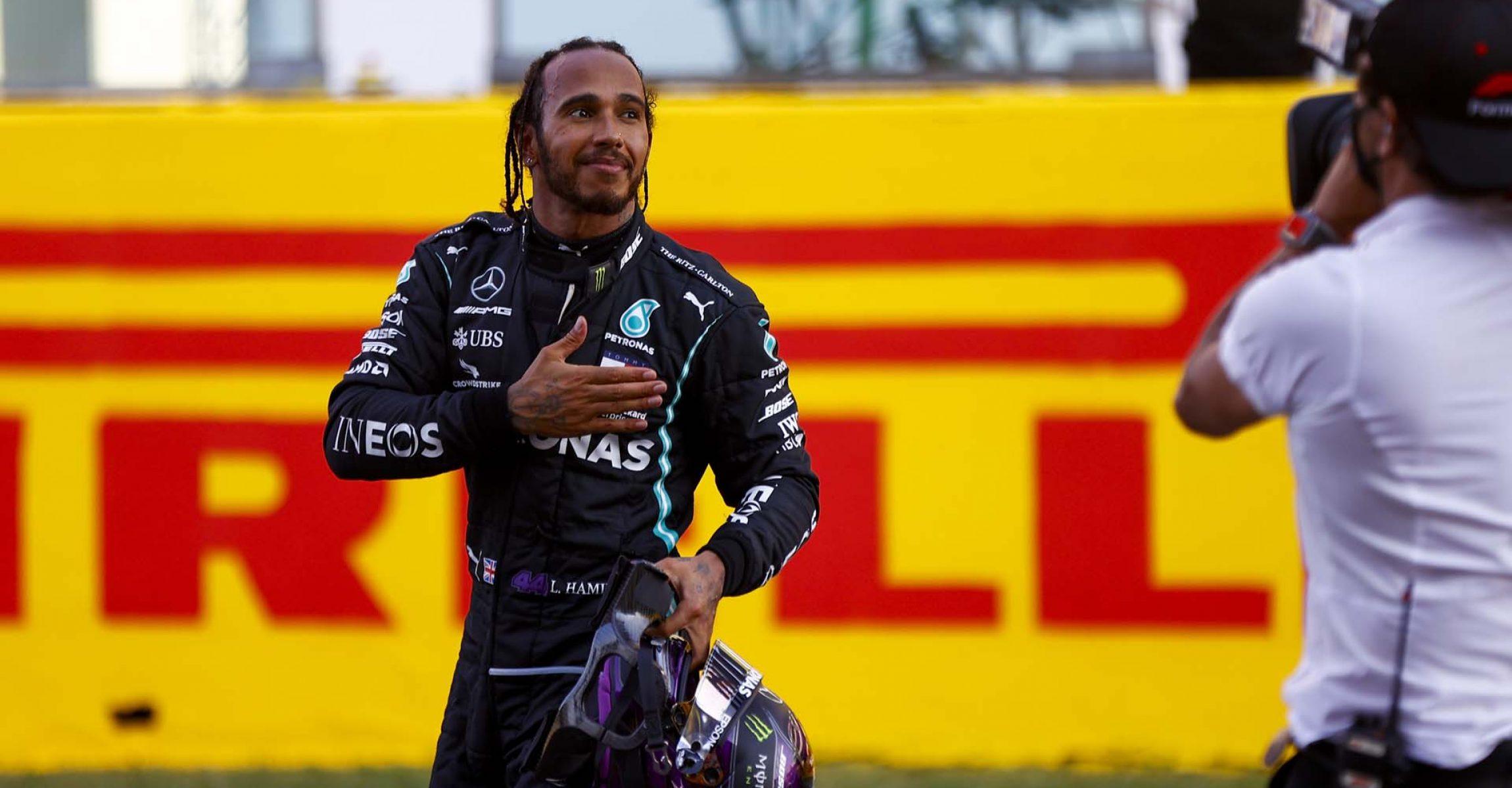 2020 Tuscan Grand Prix, Sunday - LAT Images Lewis Hamilton Mercedes