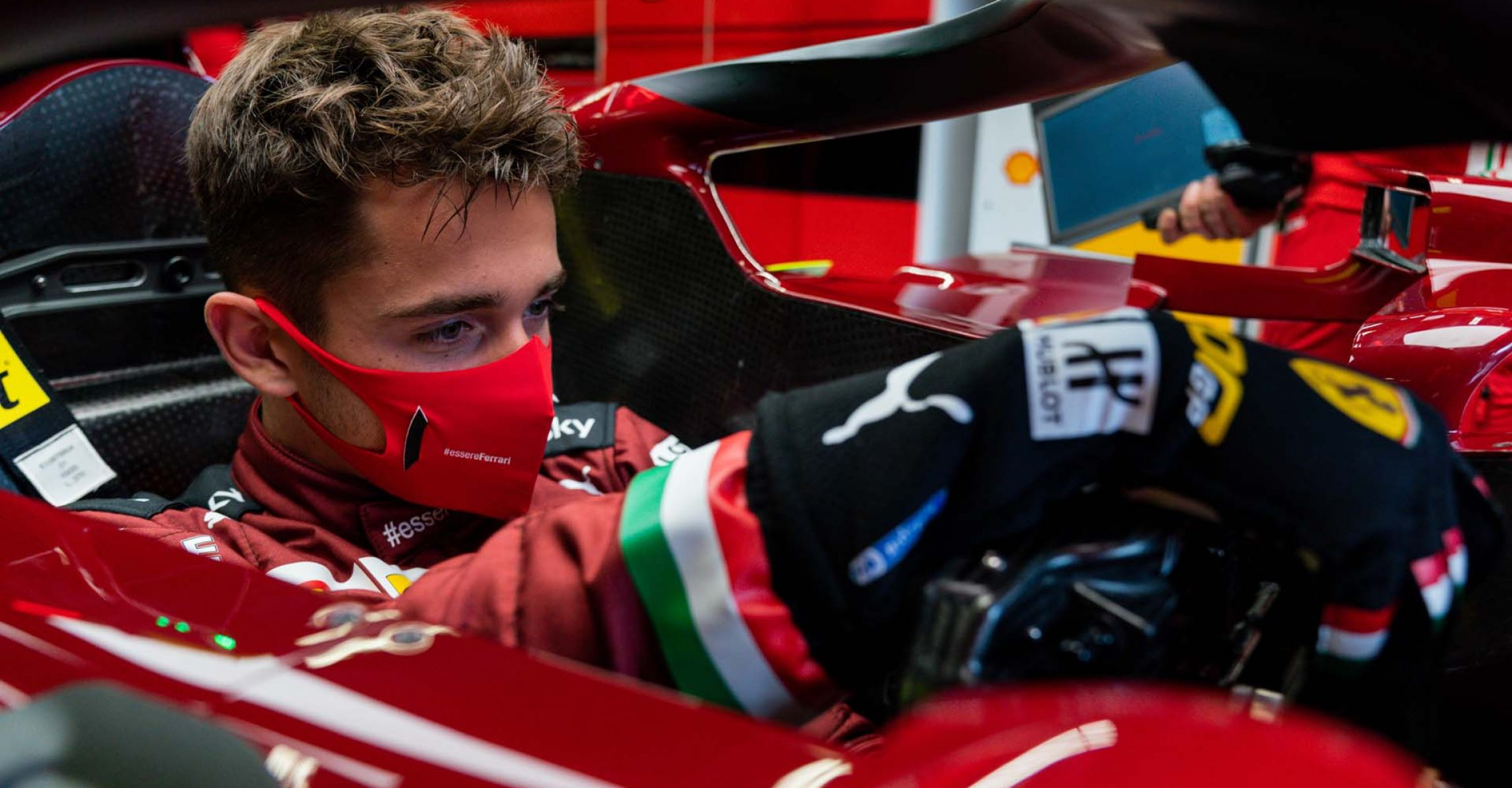 GP TOSCANA FERRARI 1000 F1/2020 -  GIOVEDÌ 10/09/2020   credit: @Scuderia Ferrari Press Office Charles Leclerc