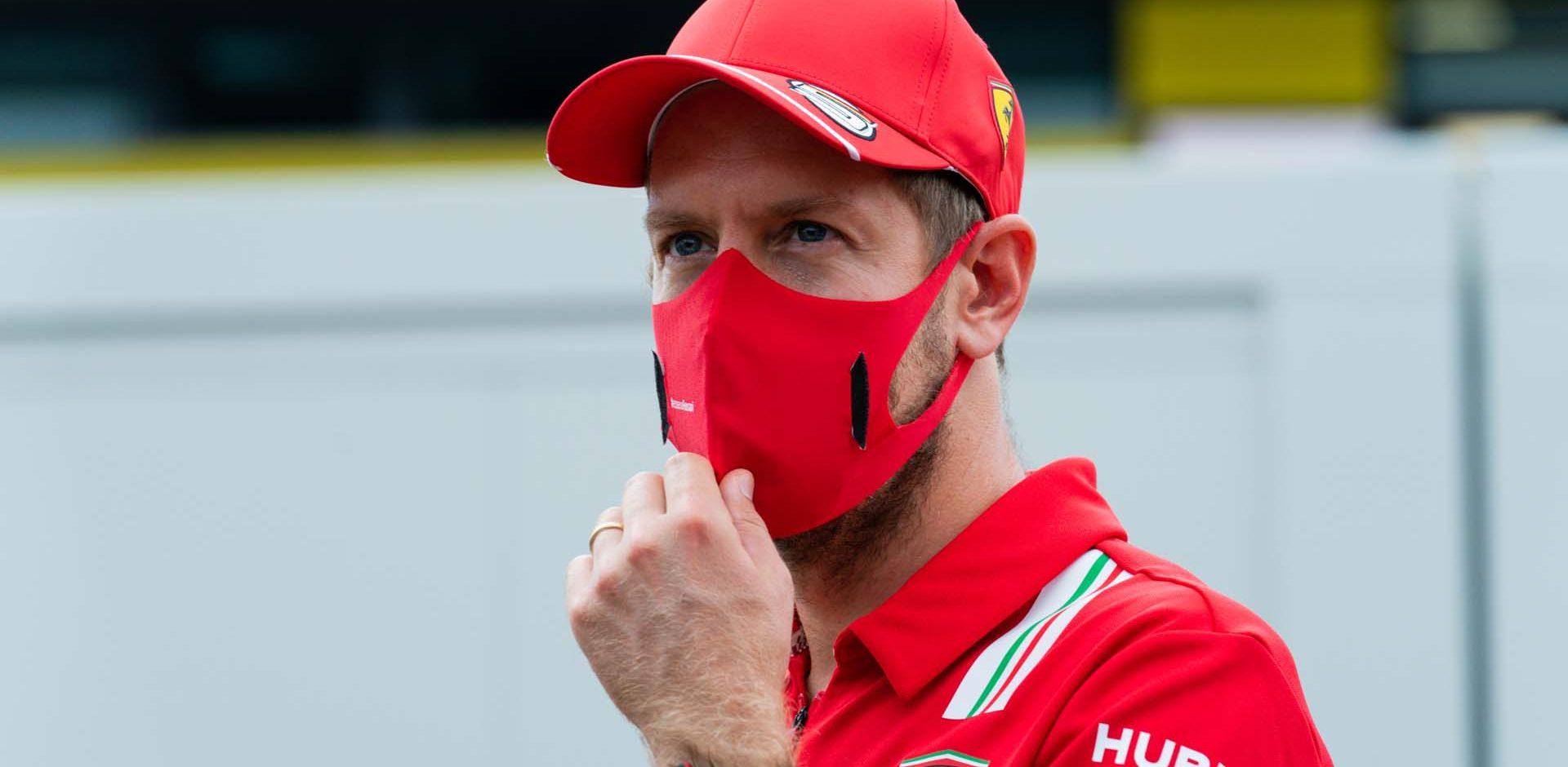 GP TOSCANA FERRARI 1000 F1/2020 -  GIOVEDÌ 10/09/2020   credit: @Scuderia Ferrari Press Office Sebastian Vettel