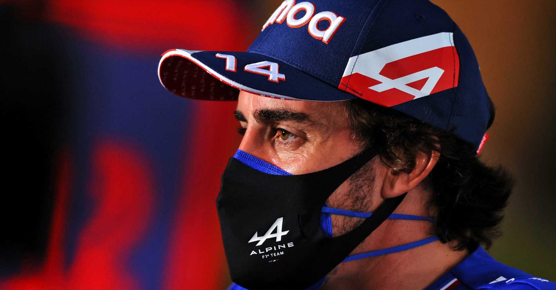 Fernando Alonso (ESP) Alpine F1 Team. Bahrain Grand Prix, Thursday 25th March 2021. Sakhir, Bahrain.