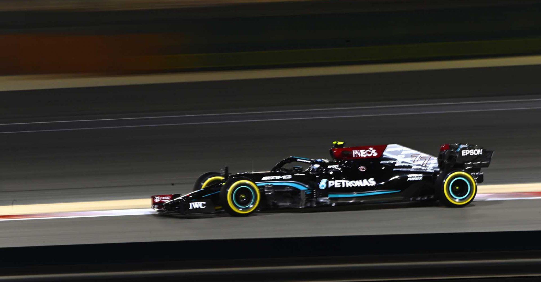 2021 Bahrain Grand Prix, Saturday - LAT Images  Valtteri Bottas Mercedes