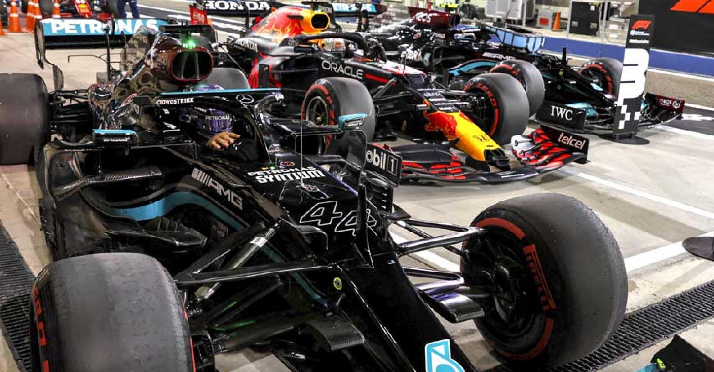 2021 Bahrain Grand Prix, Saturday - LAT Images Lewis Hamilton Mercedes
