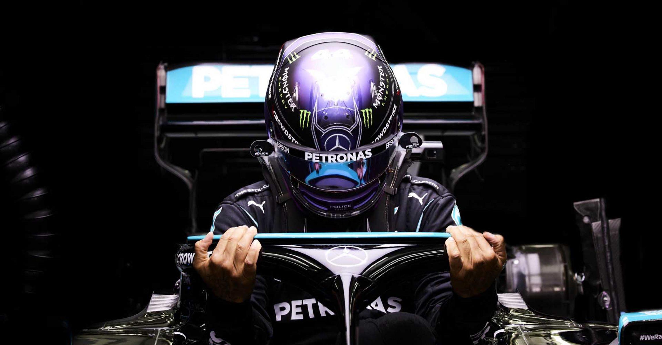 2021 Bahrain Grand Prix, Saturday - Steve Etherington Lewis Hamilton Mercedes