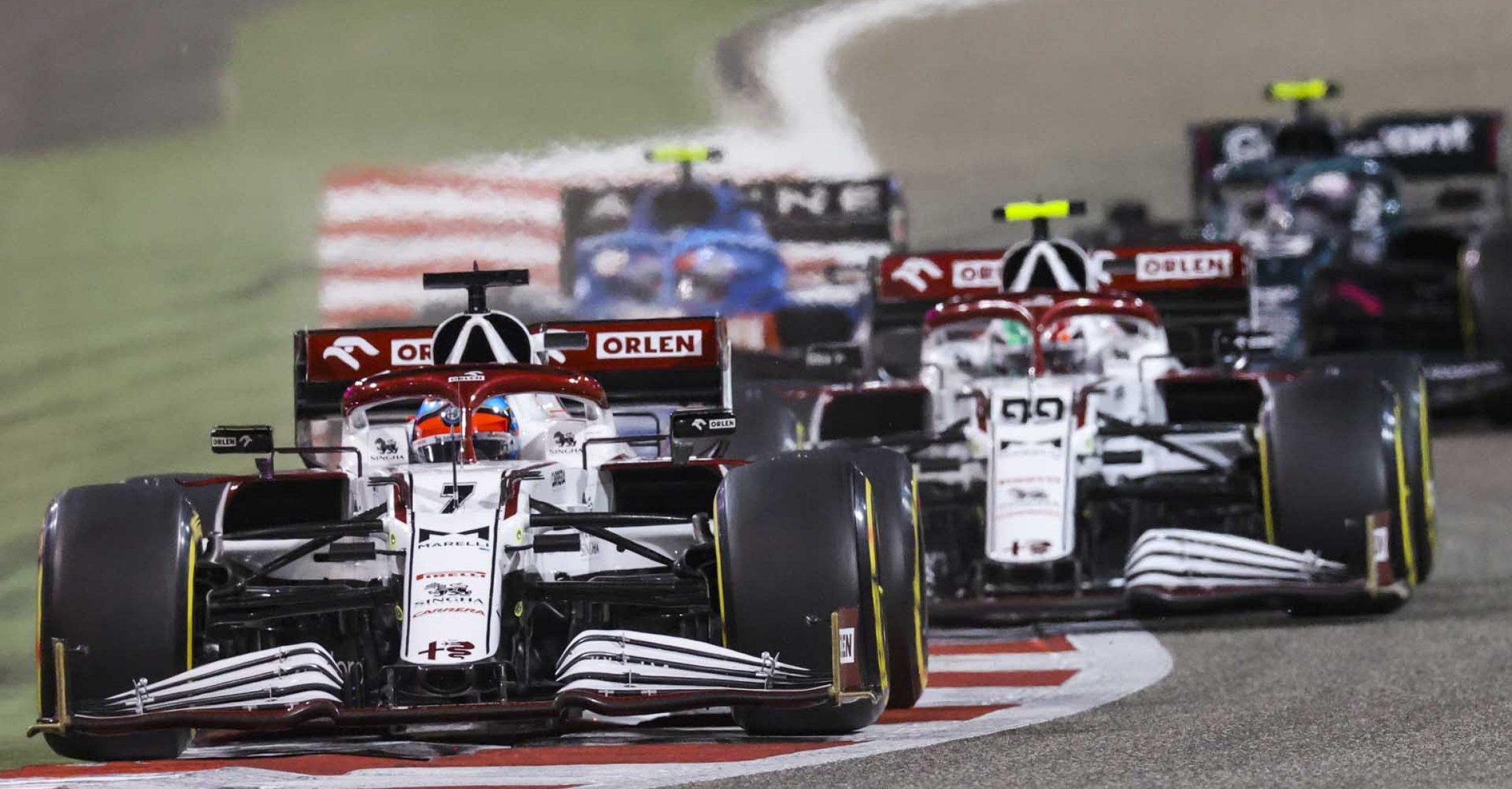 07 RAIKKONEN Kimi Räikkönen (fin), Alfa Romeo Racing ORLEN C41, action during Formula 1 Gulf Air Bahrain Grand Prix 2021 from March 26 to 28, 2021 on the Bahrain International Circuit, in Sakhir, Bahrain - Photo DPPI