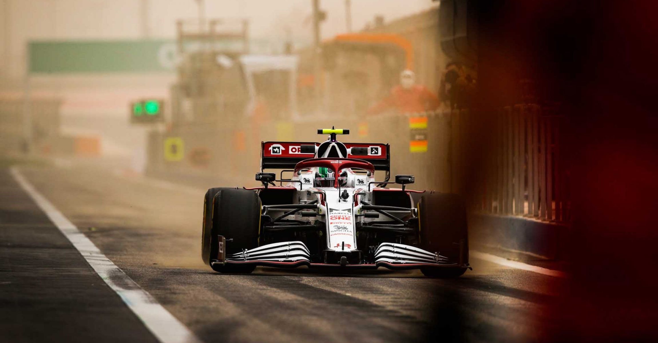GIOVINAZZI Antonio (ita), Alfa Romeo Racing ORLEN C41, action during the Formula 1 Pre-season testing 2020 from March 12 to 14, 2021 on the Bahrain International Circuit, in Sakhir, Bahrain - Photo Florent Gooden / DPPI