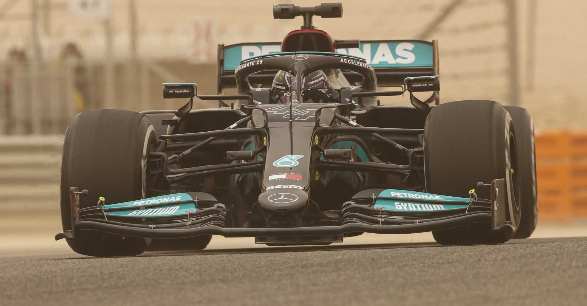 2021 Bahrain Pre-Season Test, Day 1 - LAT Images Lewis Hamilton Mercedes