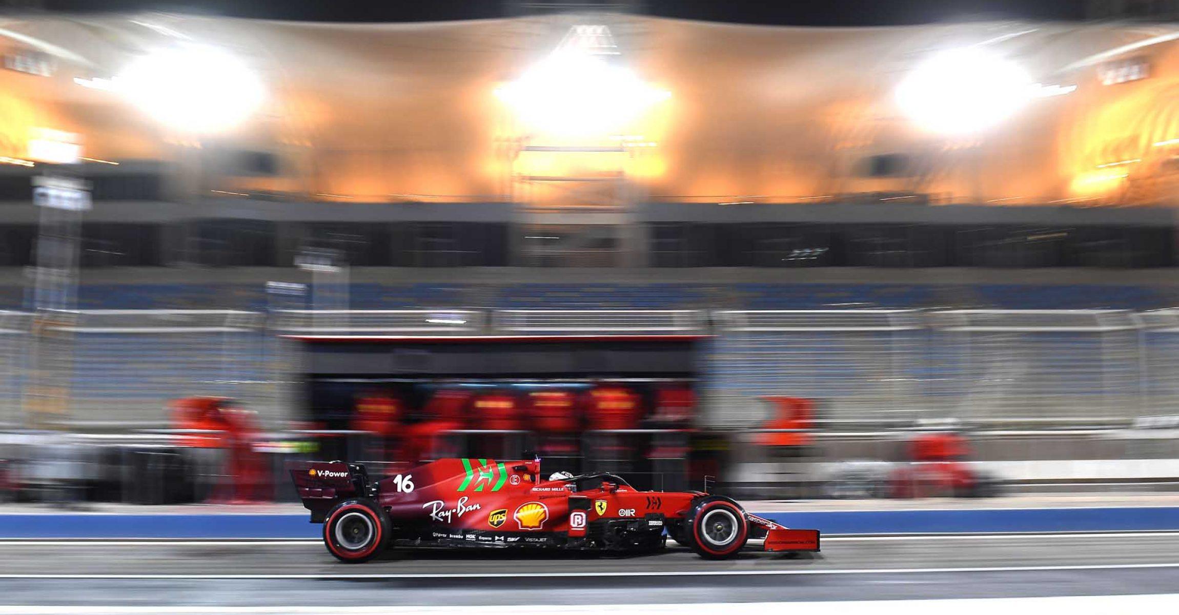 FERRARI F1 TEST BAHRAIN - SABATO 13/03/2021 credit: @Scuderia Ferrari Press Office Charles Leclerc