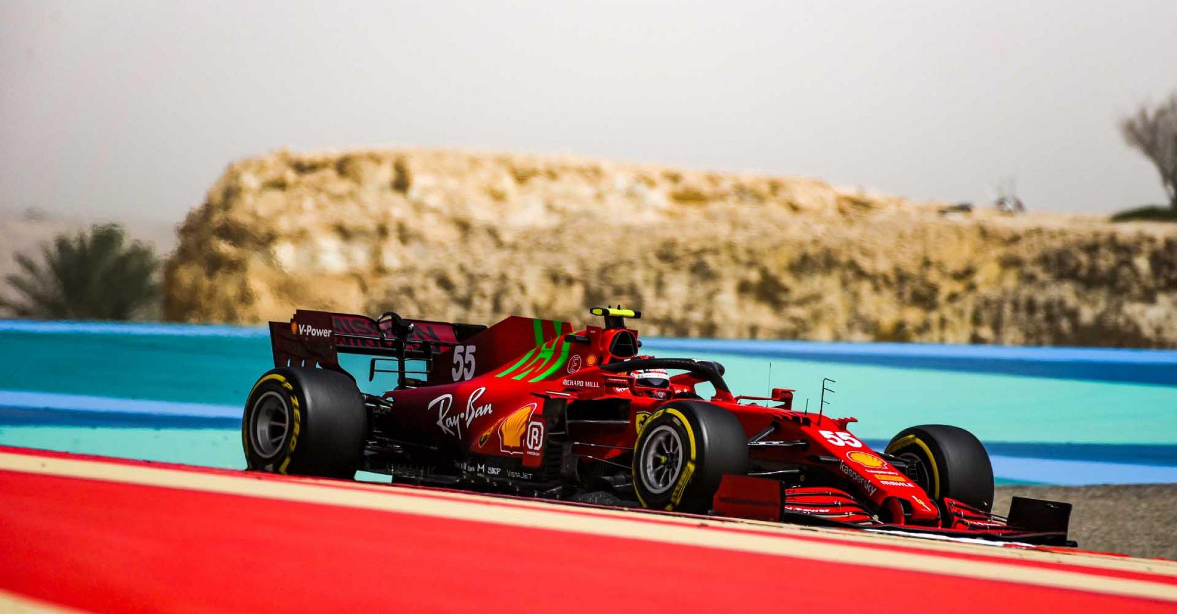 FERRARI F1 TEST BAHRAIN - SABATO 13/03/2021 credit: @Scuderia Ferrari Press Office Carlos Sainz