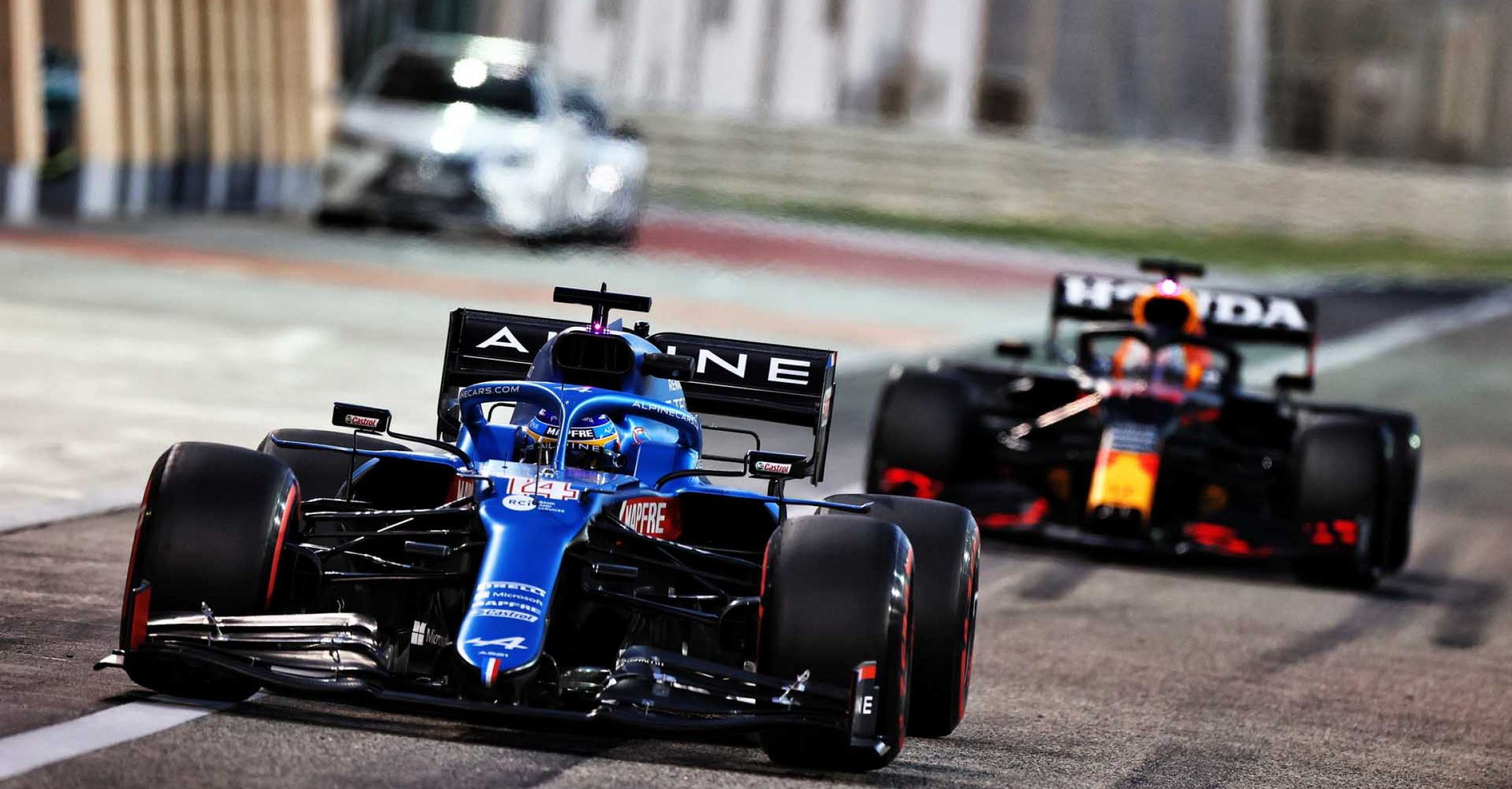 Fernando Alonso (ESP) Alpine F1 Team A521. Formula One Testing, Sunday 14th March 2021. Sakhir, Bahrain.
