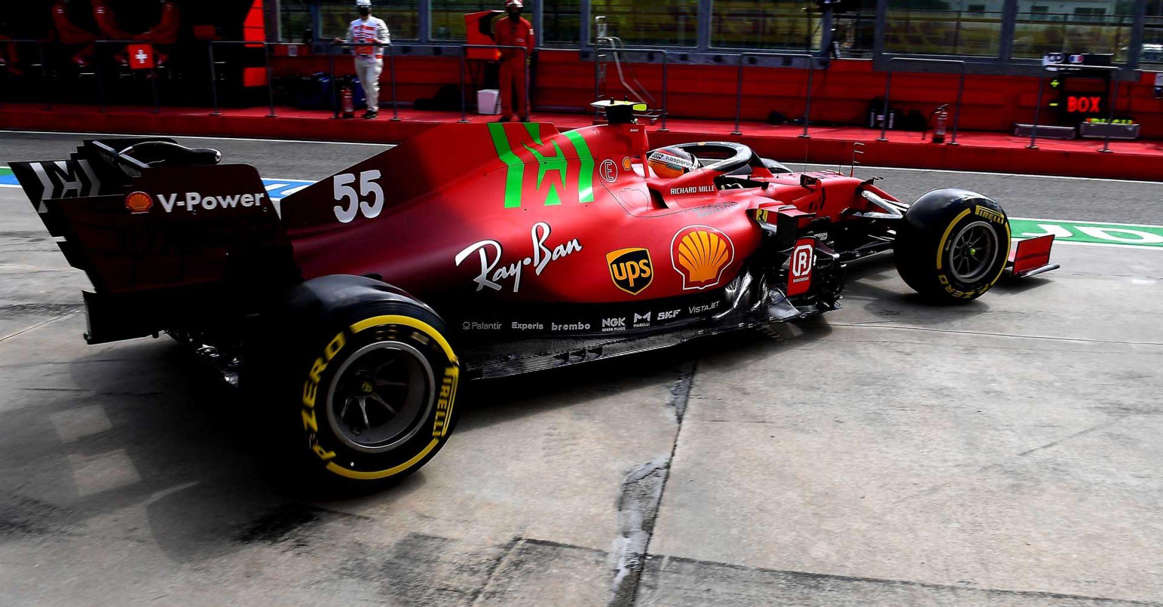 GP DELL'EMILIA ROMAGNA  F1/2021 - GIOVEDÌ 15/04/2021  credit: @Scuderia Ferrari Press Office Carlos Sainz
