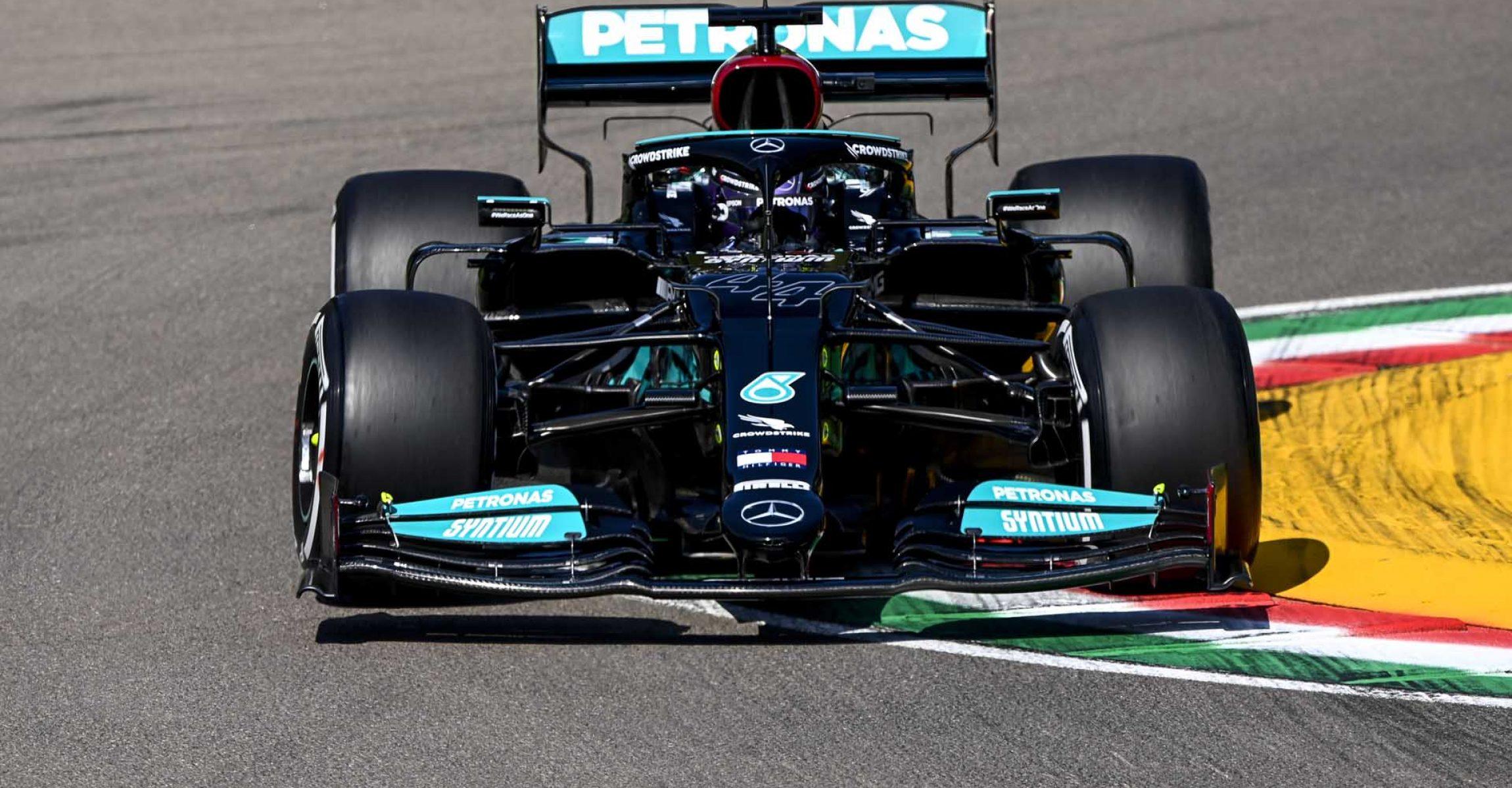 2021 Emilia Romagna Grand Prix, Friday - LAT Images Lewis Hamilton Mercedes